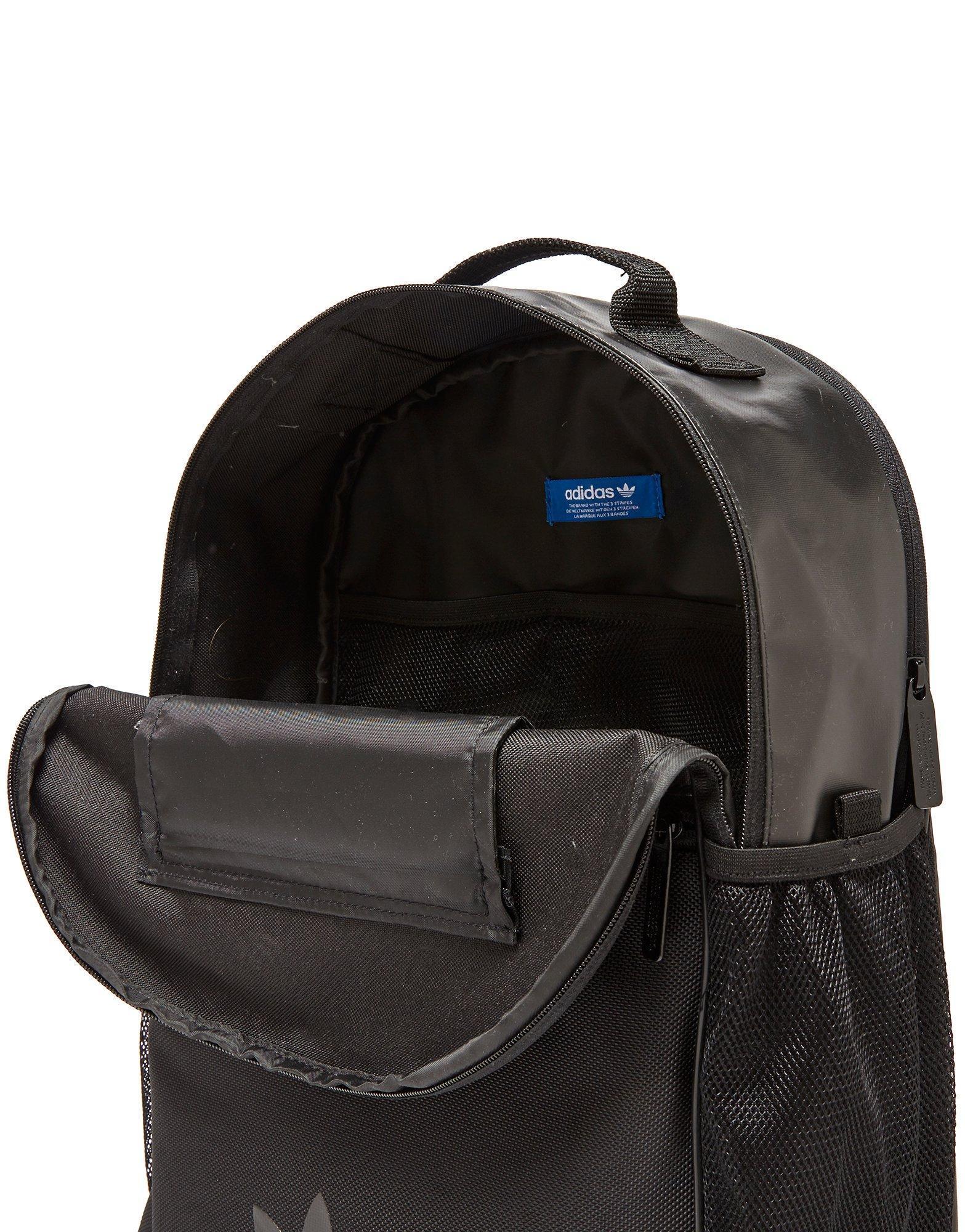 dc65af10a2 adidas Originals Essential Sport Mesh Backpack in Black for Men - Lyst