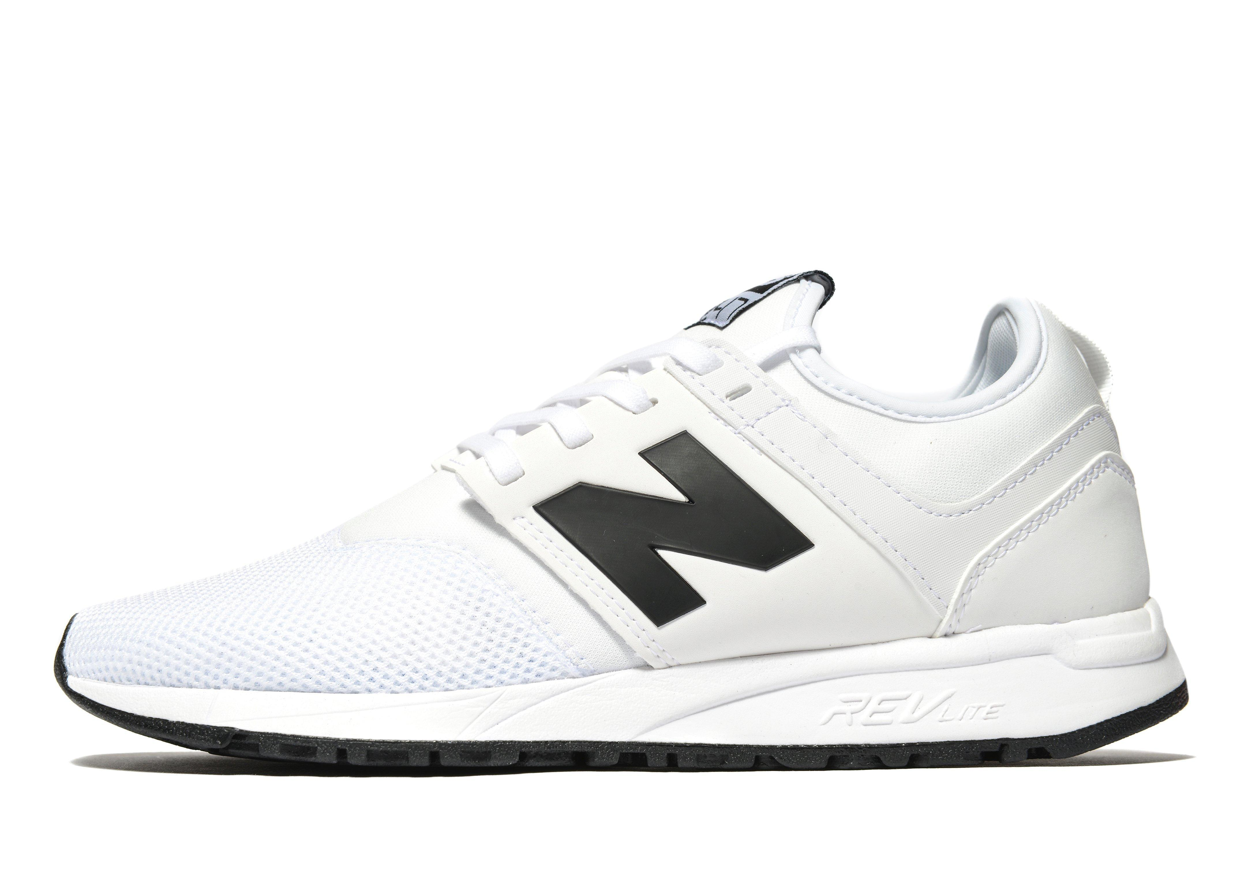 new balance 247 in white for men lyst. Black Bedroom Furniture Sets. Home Design Ideas