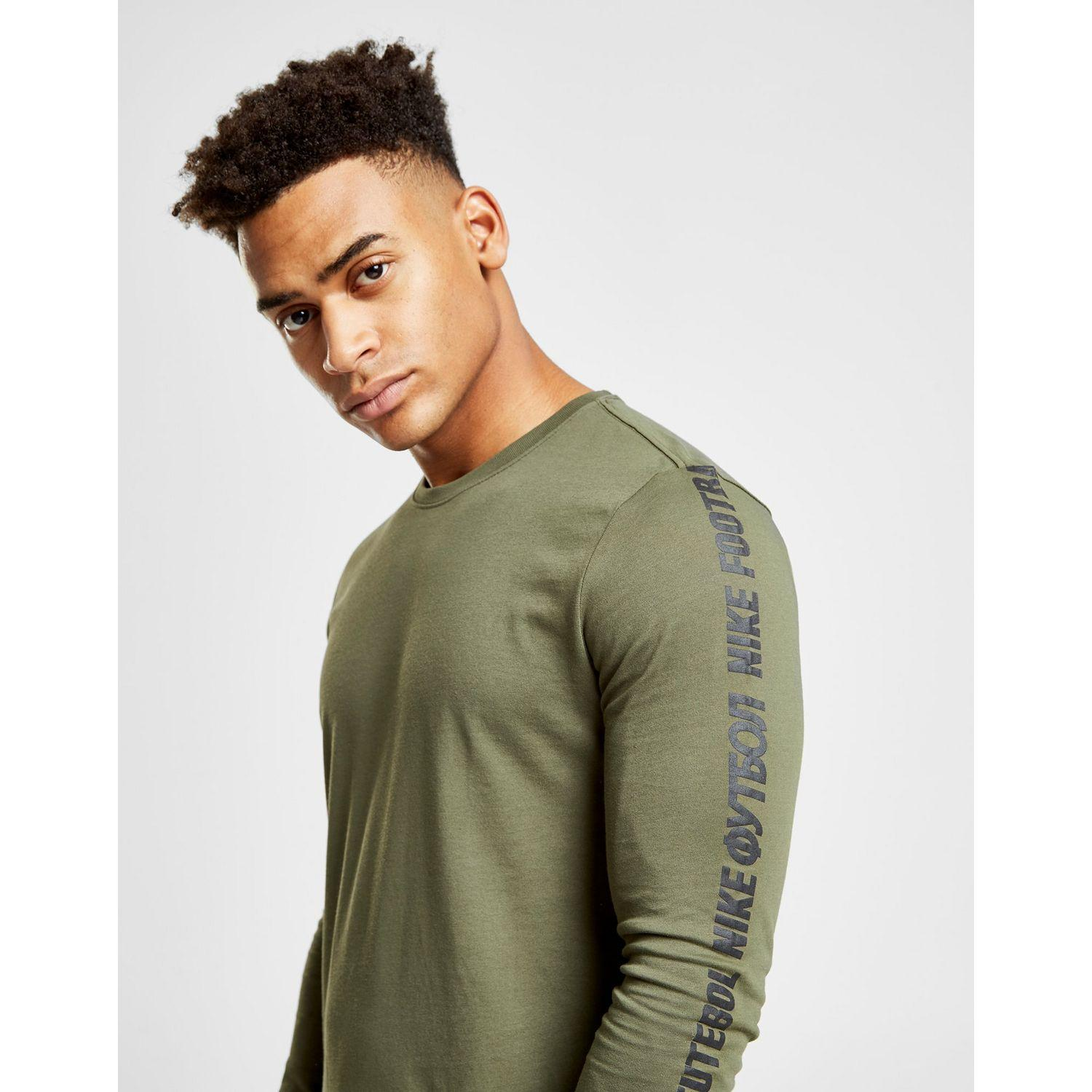 b8051674 Nike Fc Long Sleeve Tape T-shirt in Green for Men - Lyst