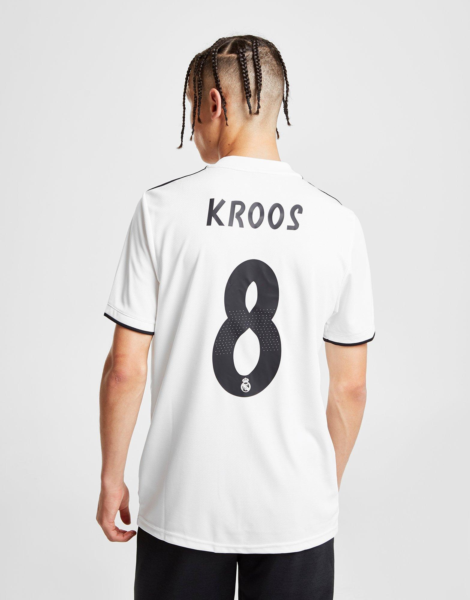 1971cb99 adidas Real Madrid 2018/19 Kroos #8 Home Shirt in White for Men - Lyst