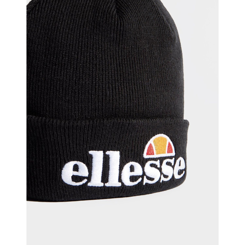 71b8fa58 Ellesse Pom Beanie in Black for Men - Save 40% - Lyst