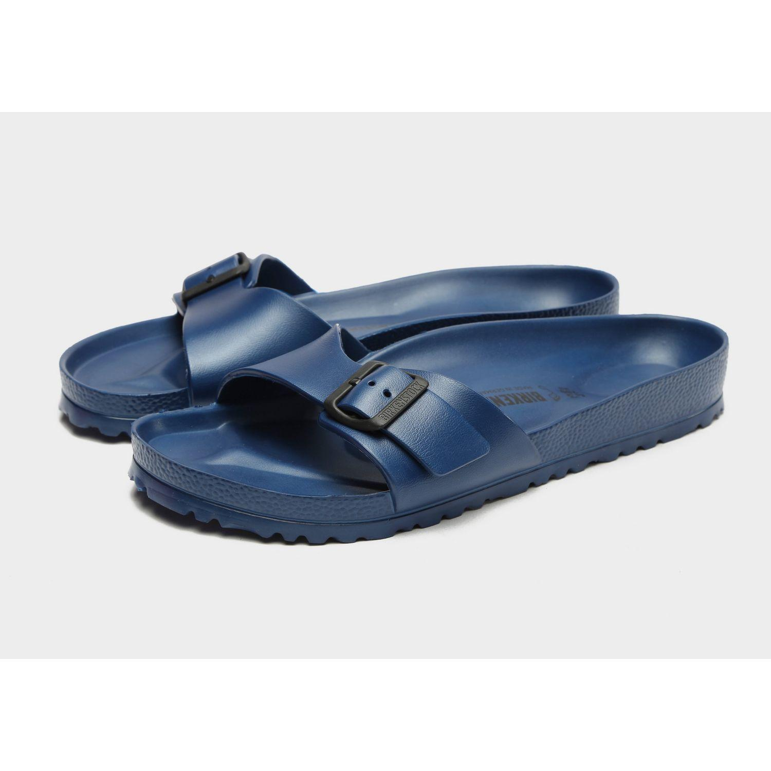 ff75fdfc54f6d Lyst - Birkenstock Madrid Eva Slides in Blue for Men