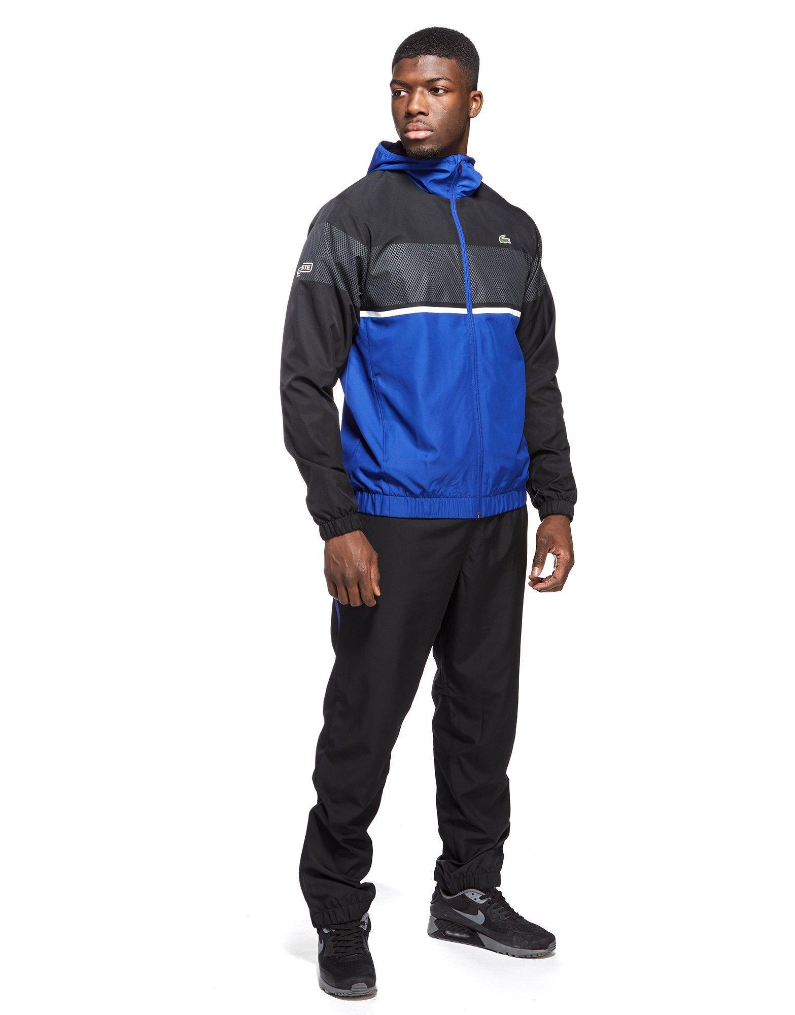 01cb06bd8 Lyst - Lacoste Colour Block Tracksuit in Blue for Men