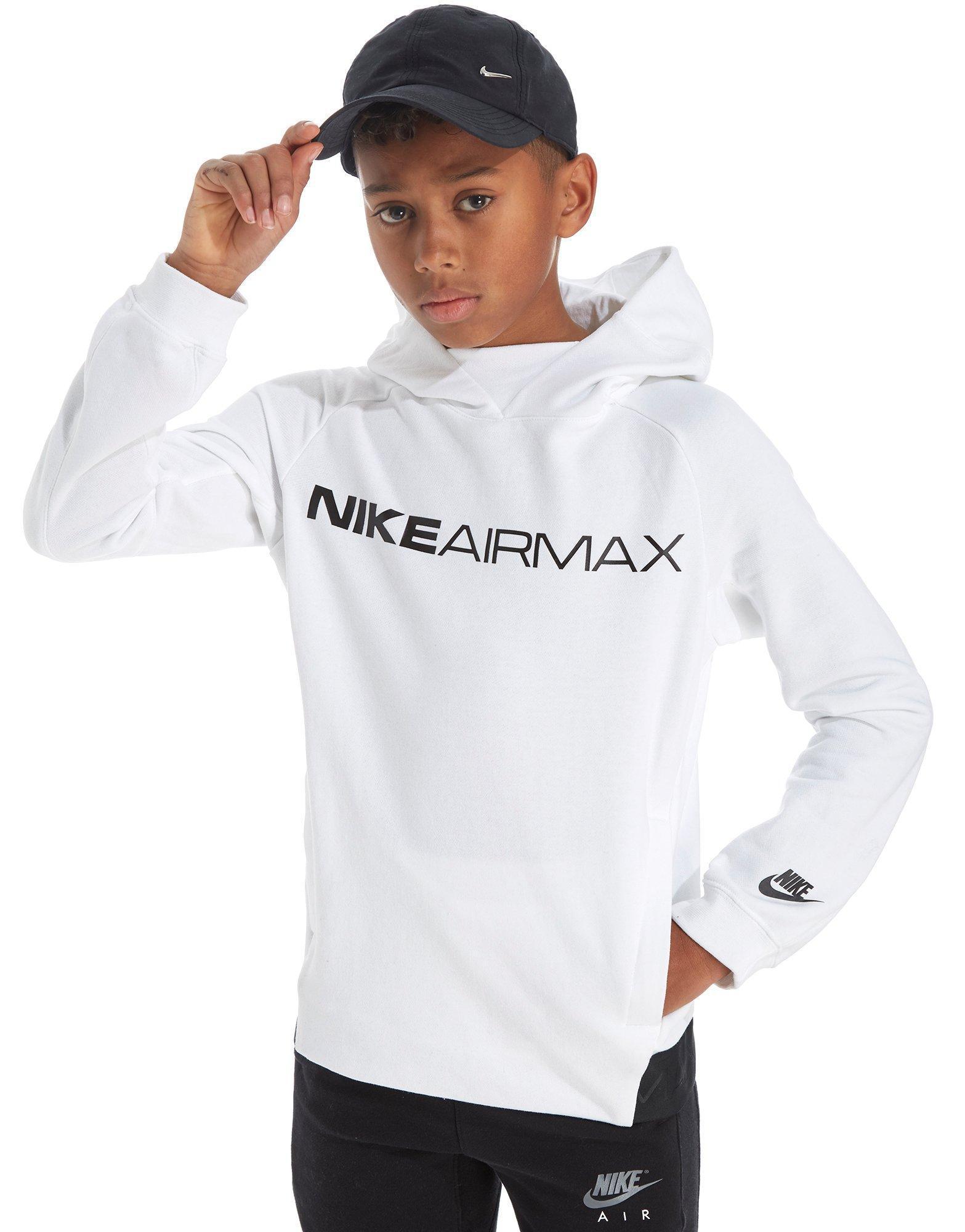 b5331bb4af53 Lyst - Nike Air Max Hoodie Junior in White for Men