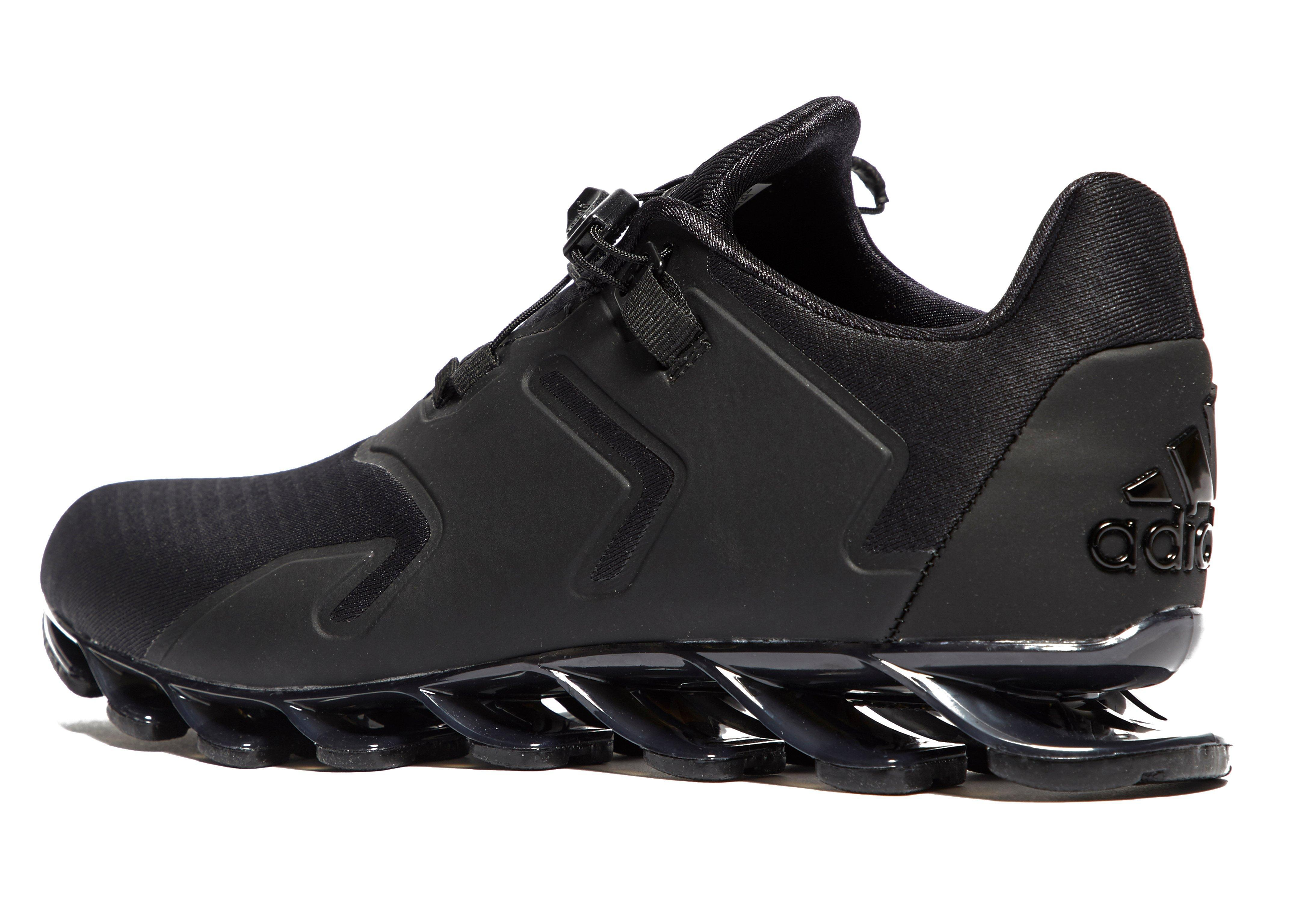 ea35f1b4b01e ... discount lyst adidas springblade solyce running shoes in black for men  366c1 4d93a