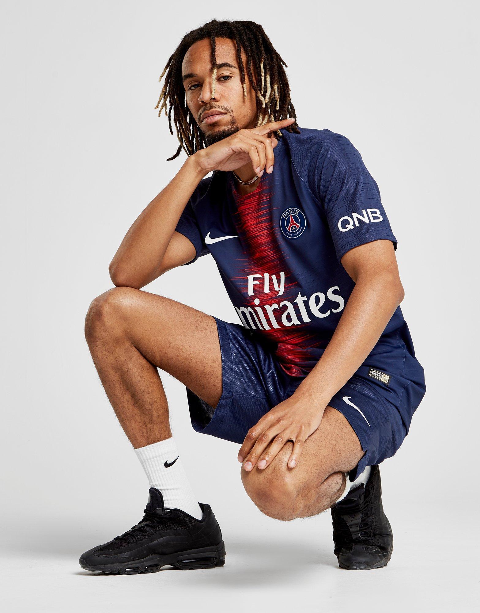 c8610418dfeac Nike Paris Saint Germain 2018 19 Home Vapor Shirt in Blue for Men - Lyst