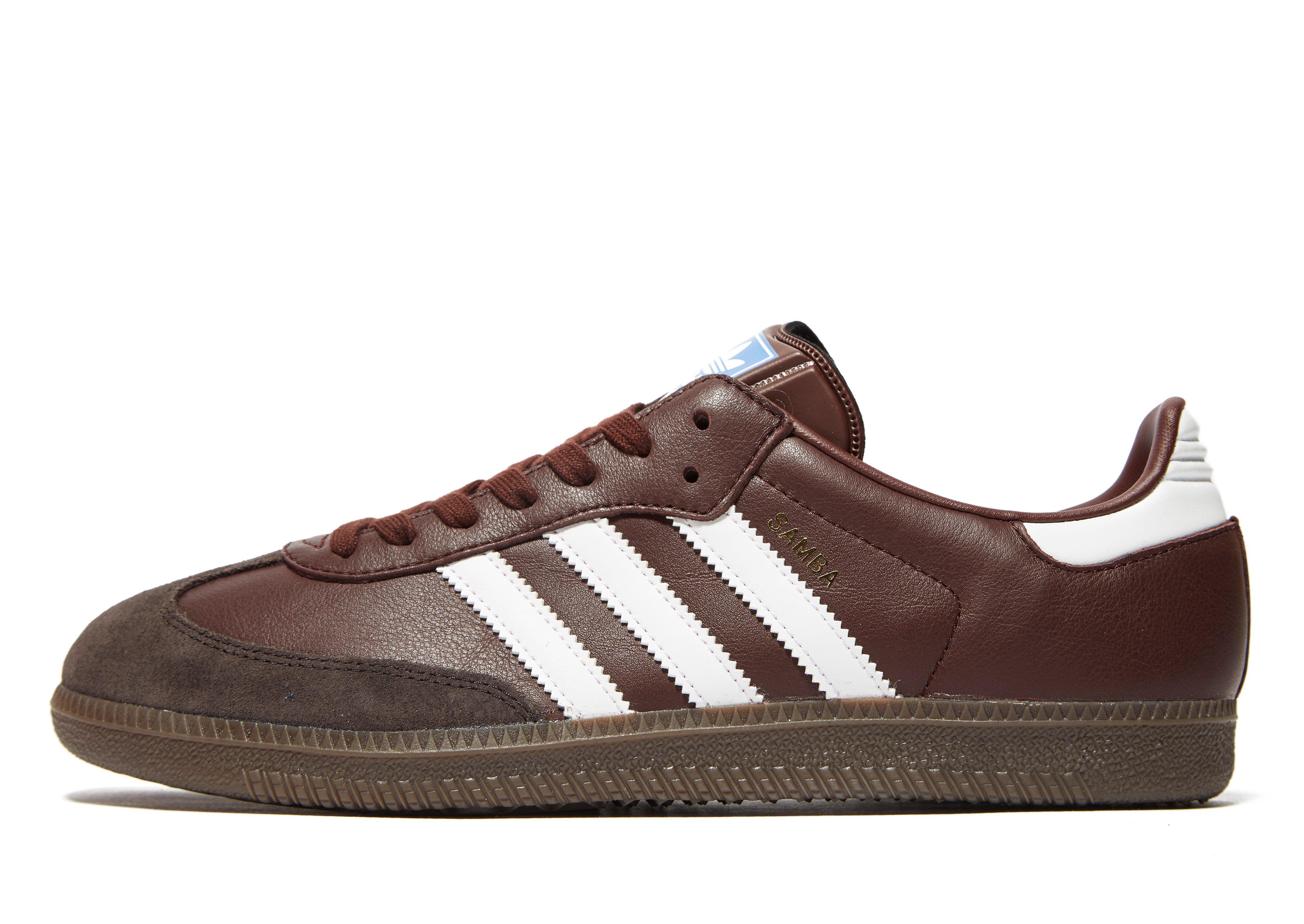 Adidas Shoes Brown Colour