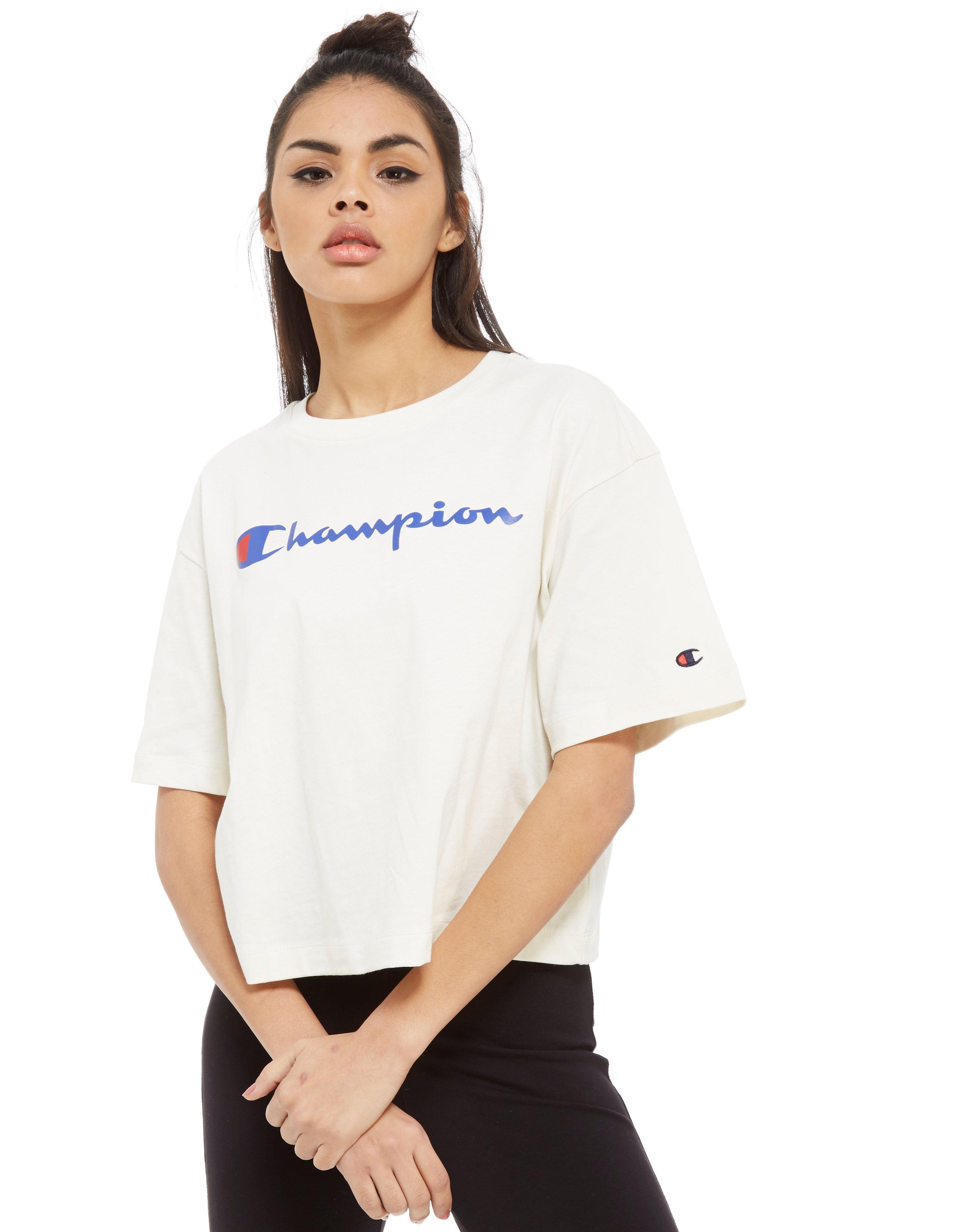 champion t shirt frauen