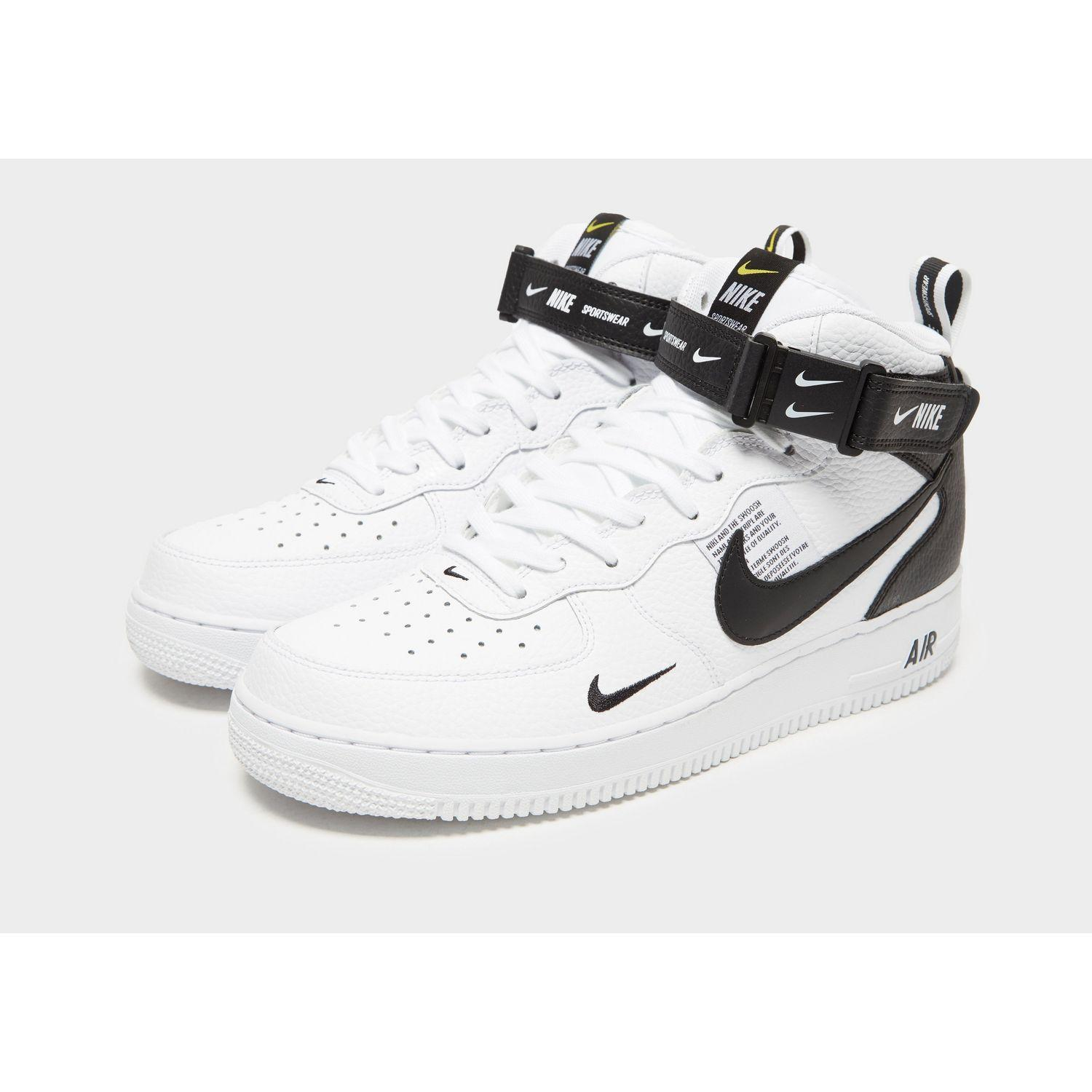 detailed look 8e250 15bd8 Nike Air Force 1 07 Mid Lv8 Men s Shoe in White for Men - Lyst
