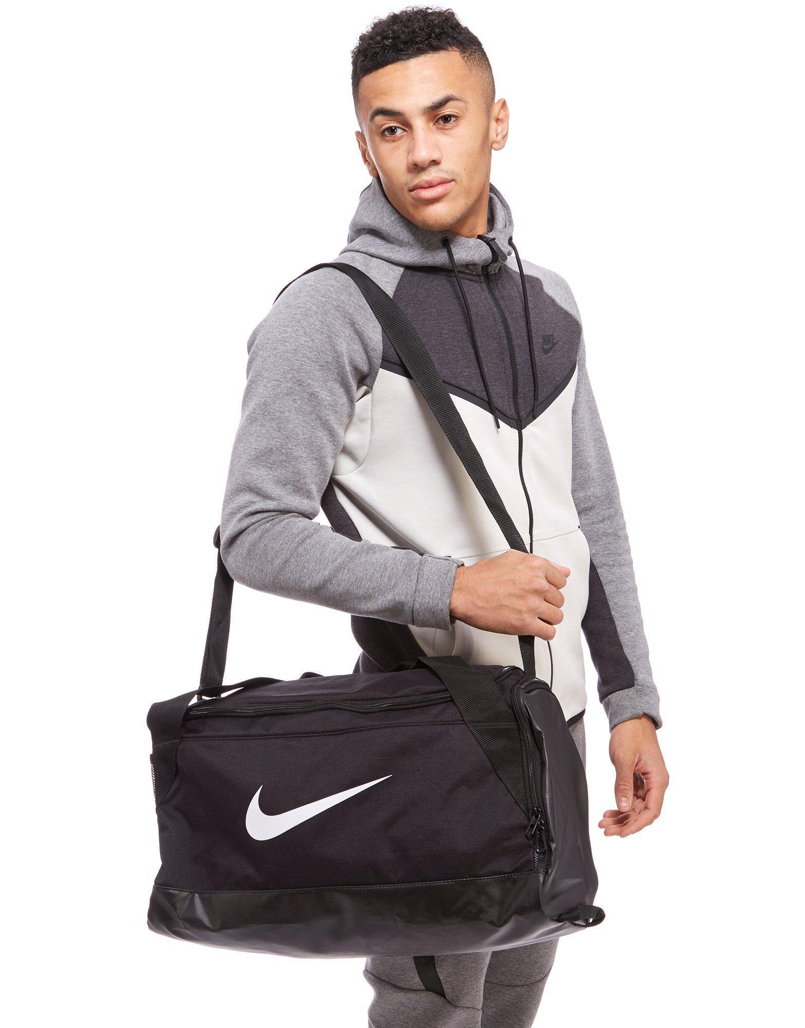 ... Lyst - Nike Brasilia Small Duffel Bag (midnight Navy black white) Duffel  Bags in ... 692fb63cd00c5