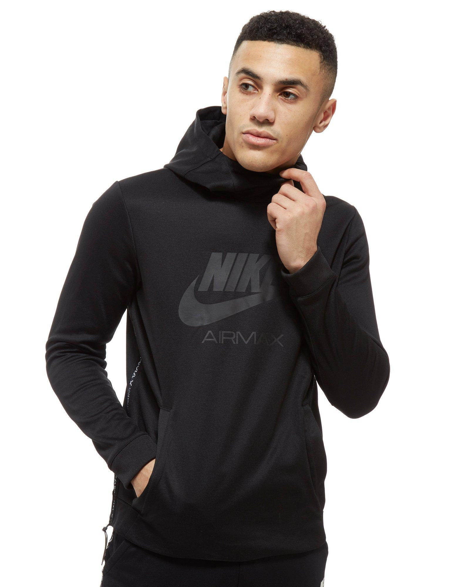 Nike Air Max Poly Hoodie in Black for Men - Lyst 65a493ce1