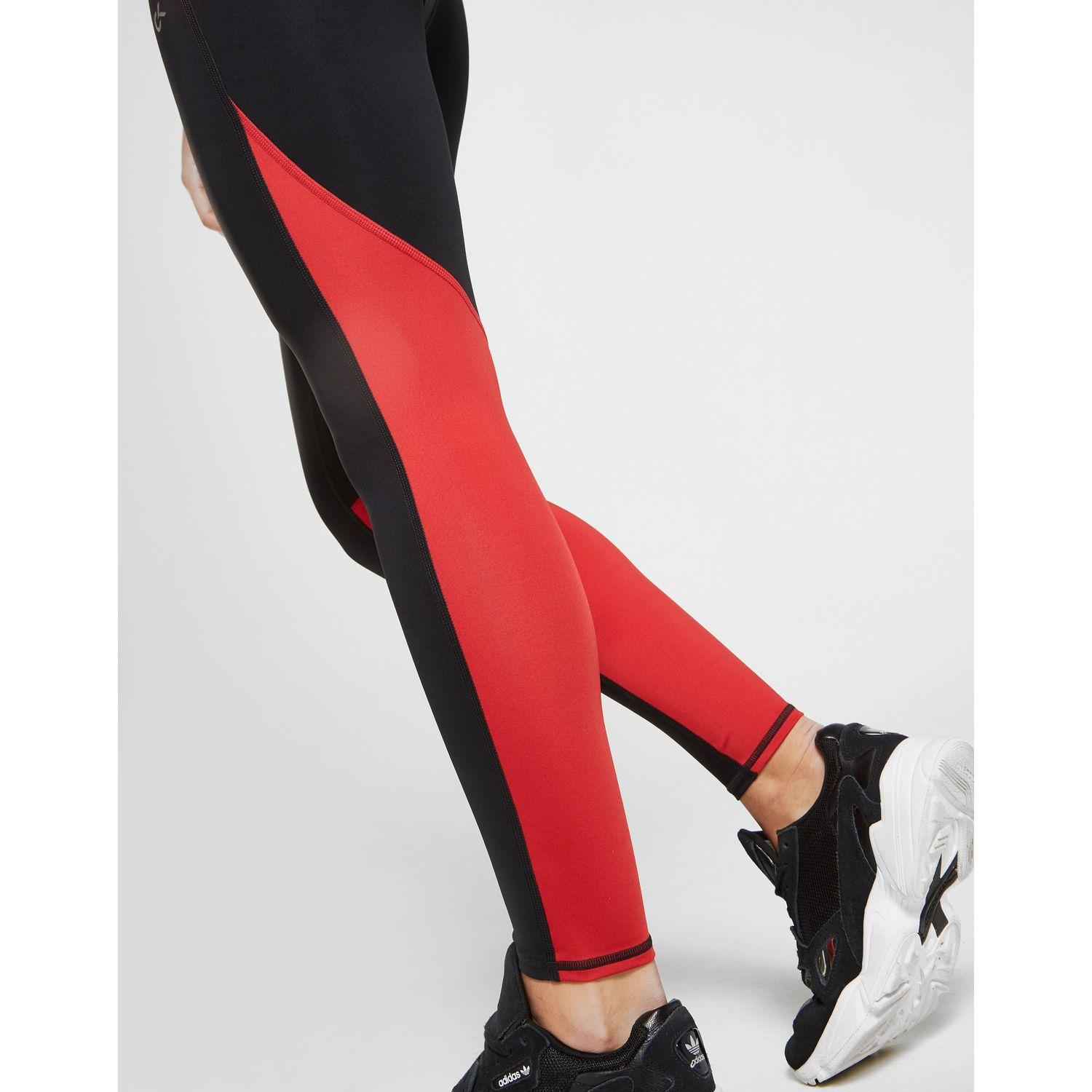 fb4bf2fd17 Lyst - Calvin Klein Performance Colour Block Tights in Red