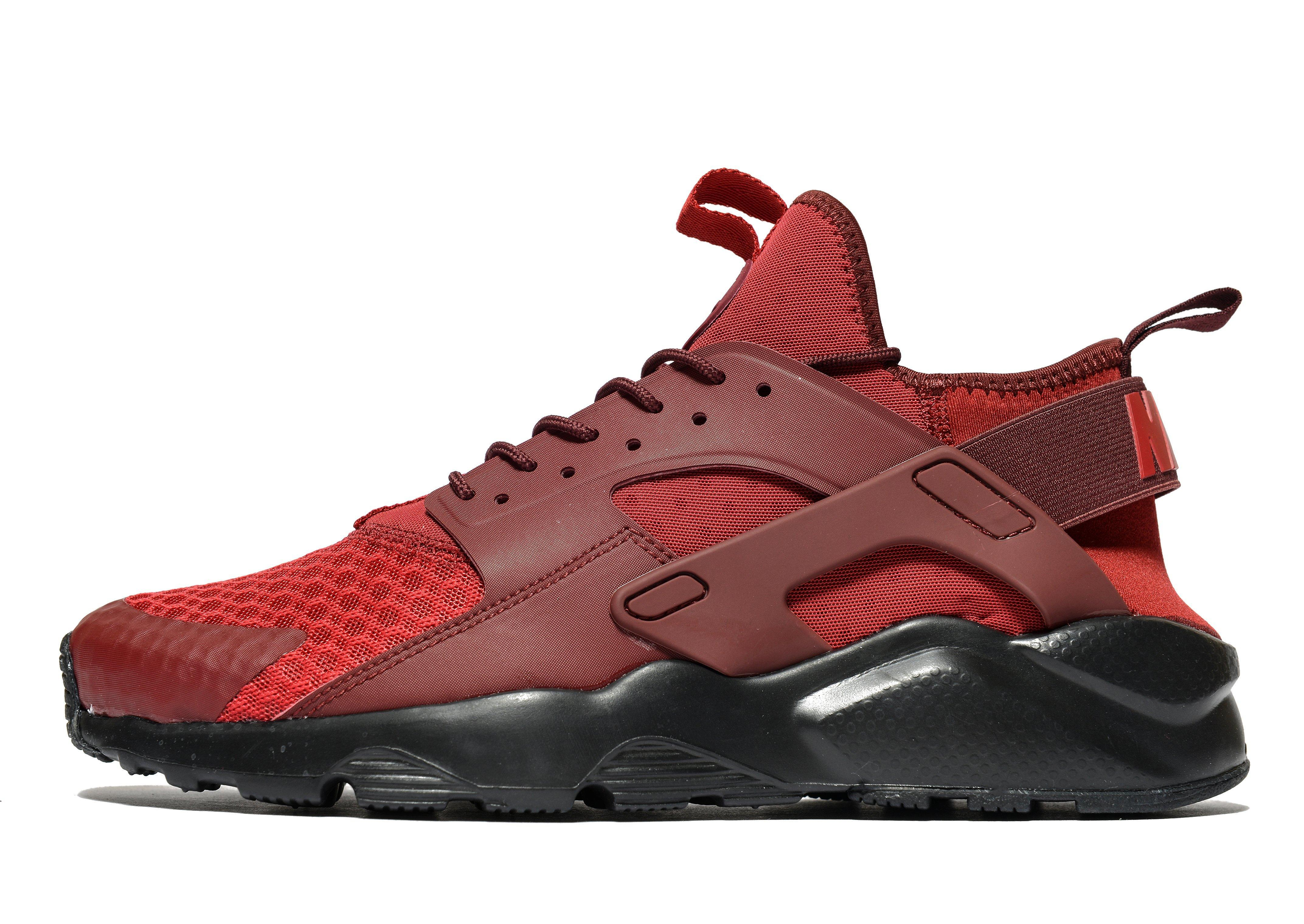 nike air huarache ultra in red for men lyst. Black Bedroom Furniture Sets. Home Design Ideas