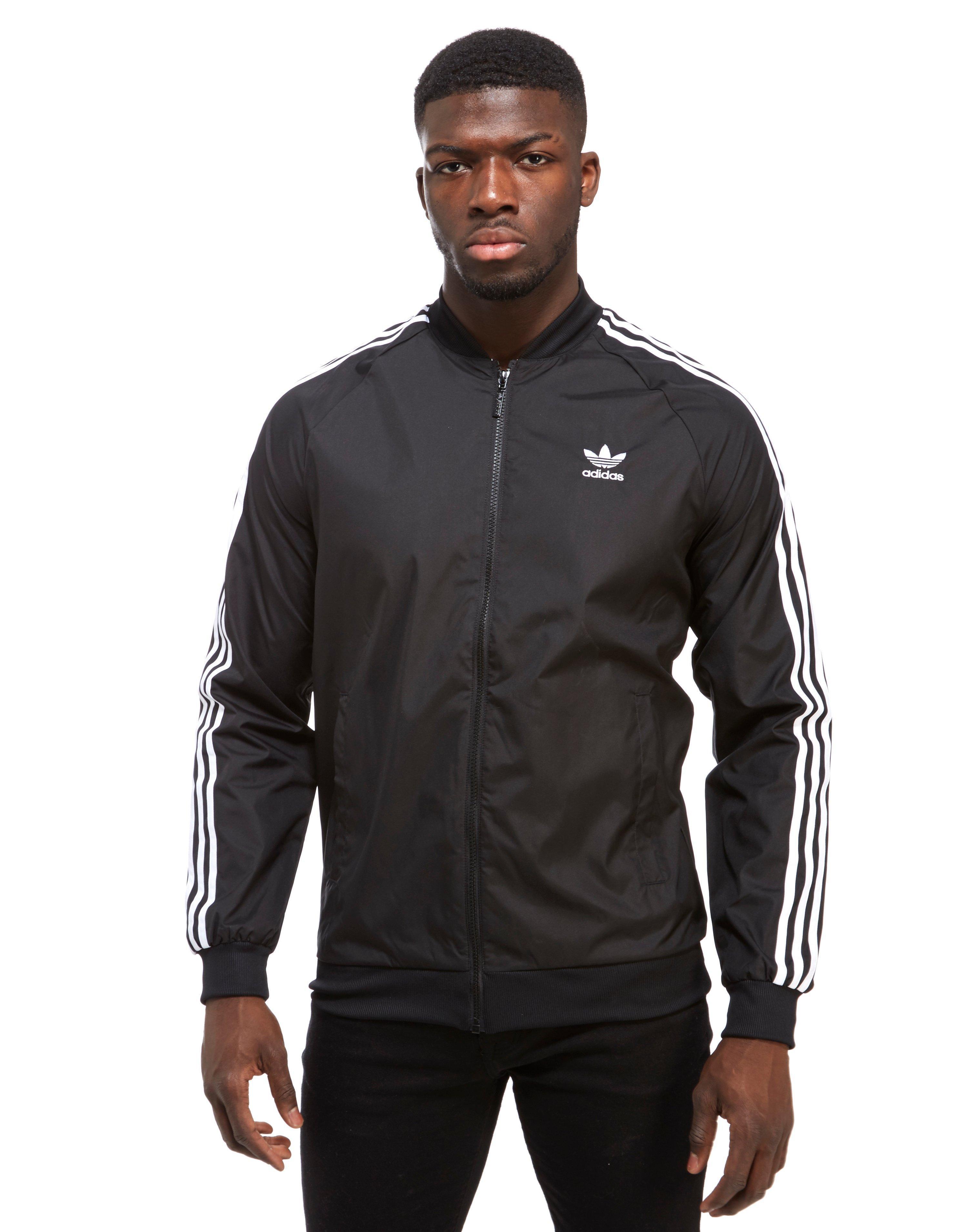 adidas superstar woven jacket