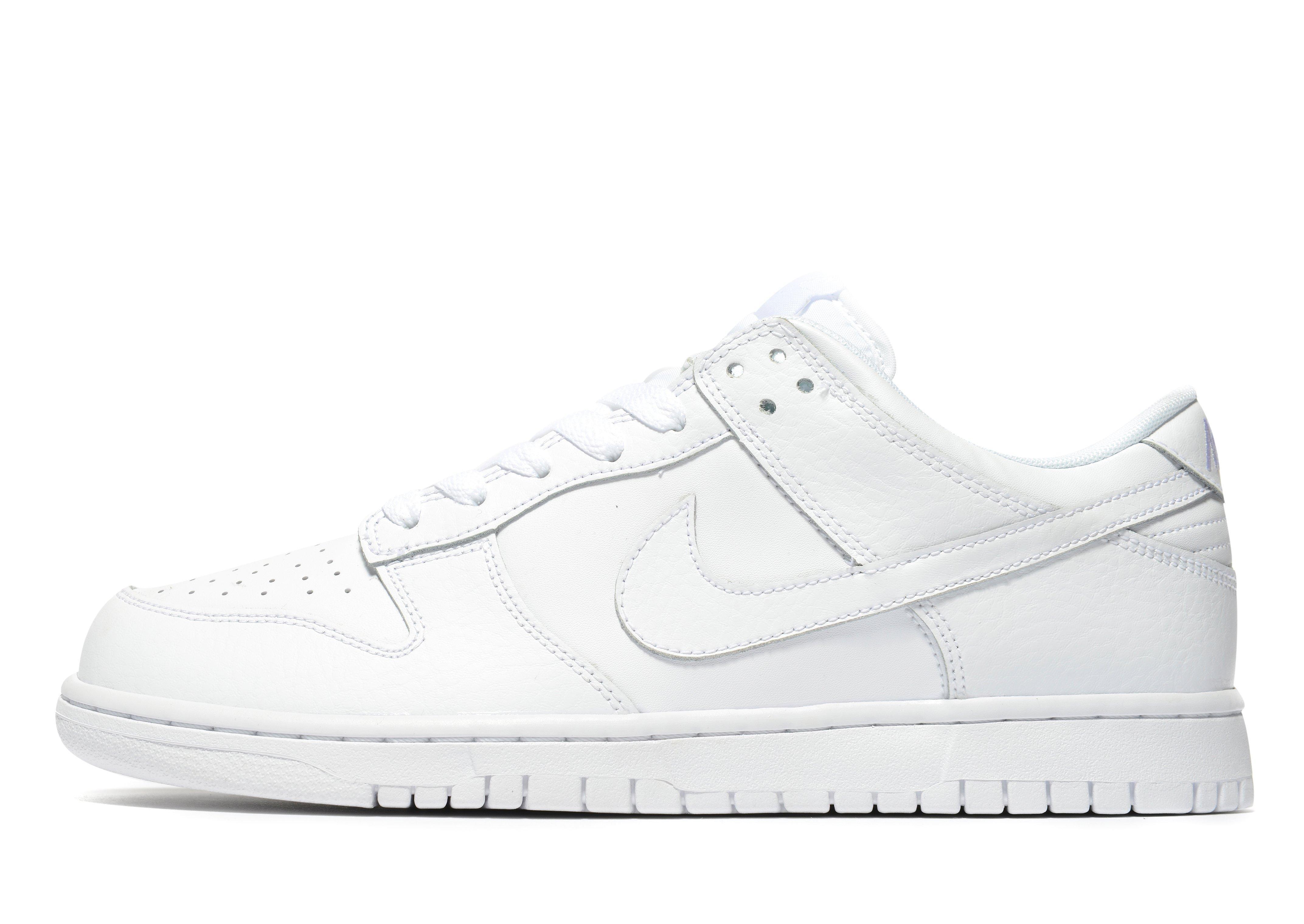 info for e5abb b3c29 Nike - White Dunk Low for Men - Lyst