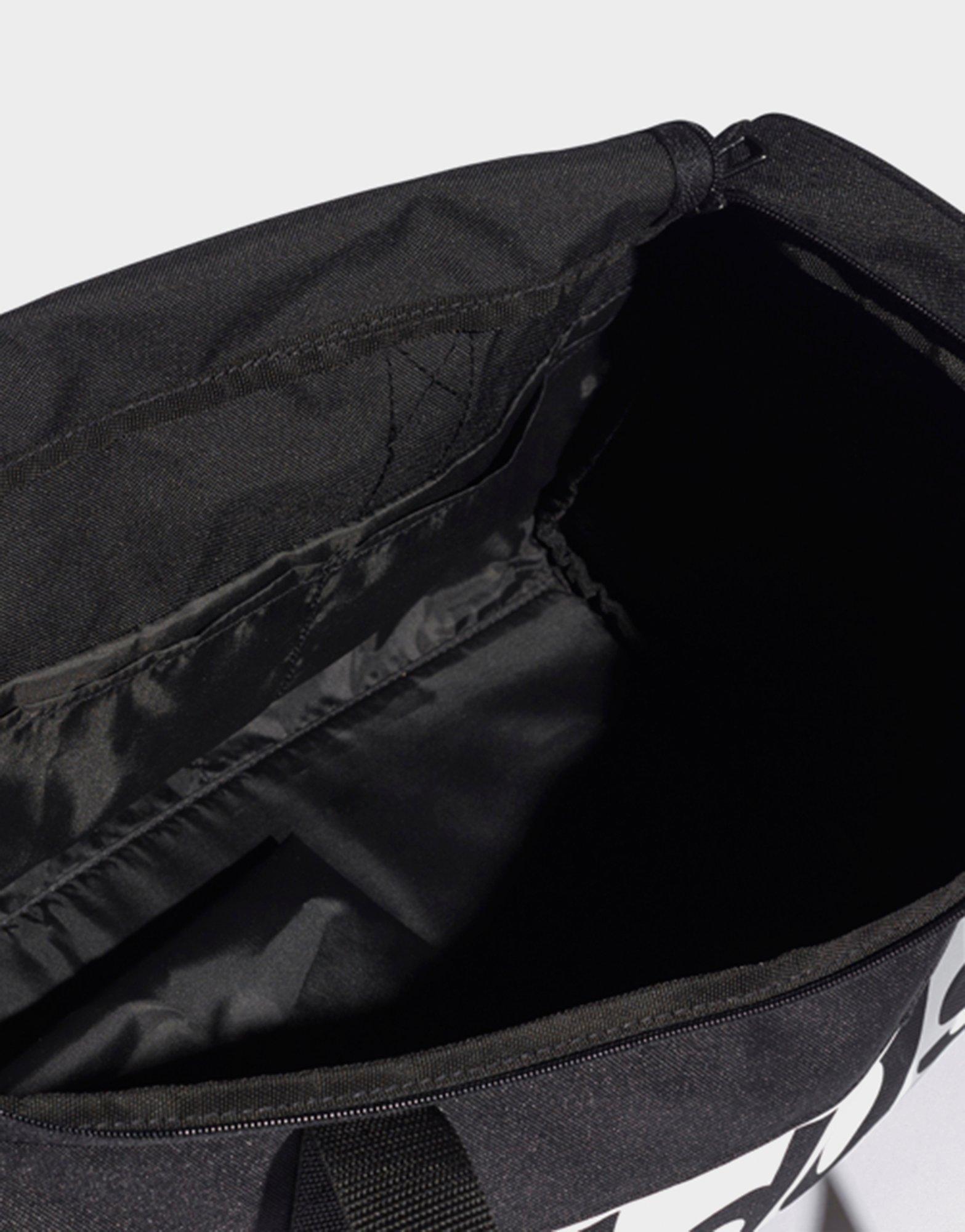 942f591131 adidas Linear Performance Duffel Bag Small in Black - Lyst