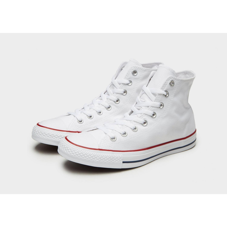 Converse - White Chuck Taylor All Star Hi for Men - Lyst. View fullscreen 54736840a