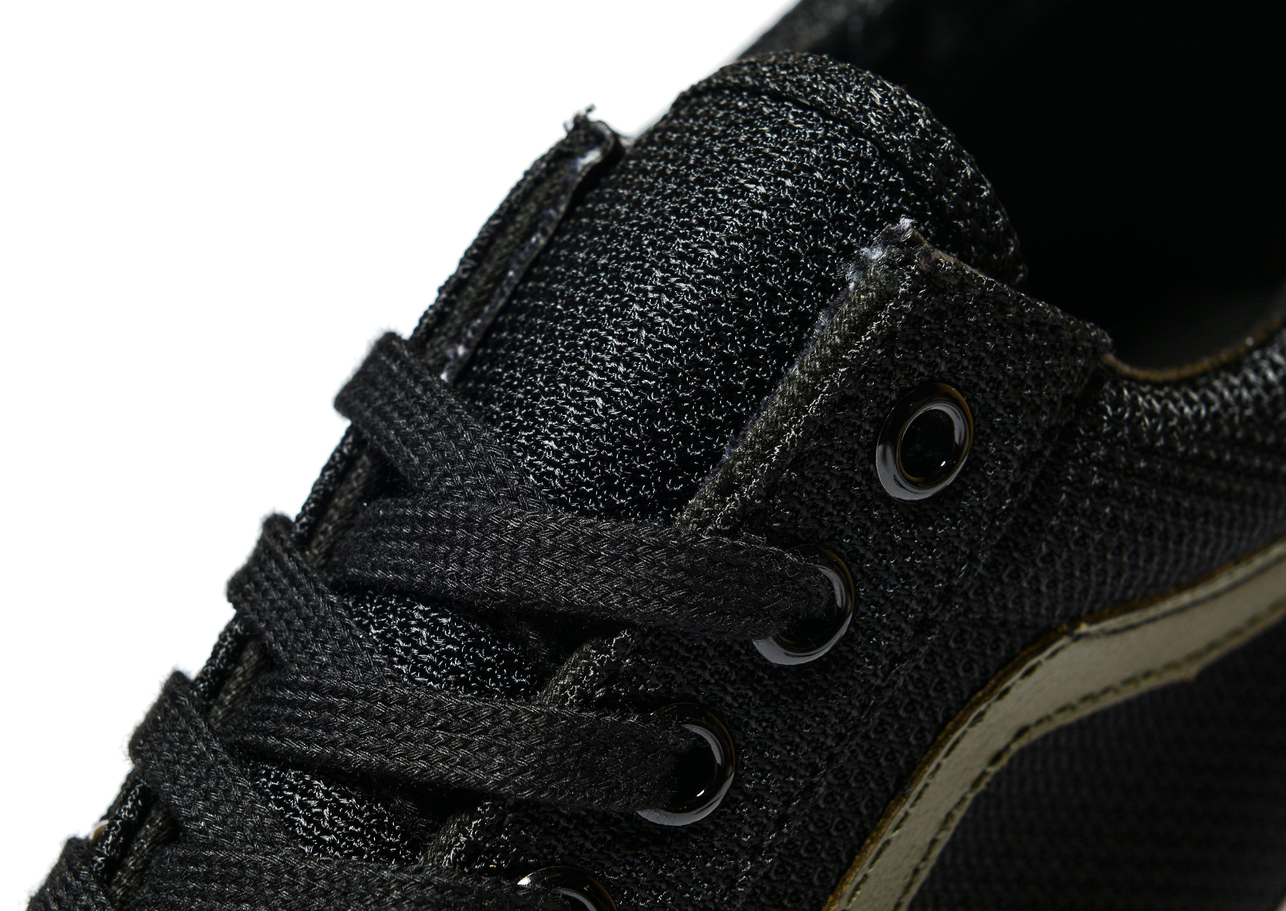 vans old skool mesh black