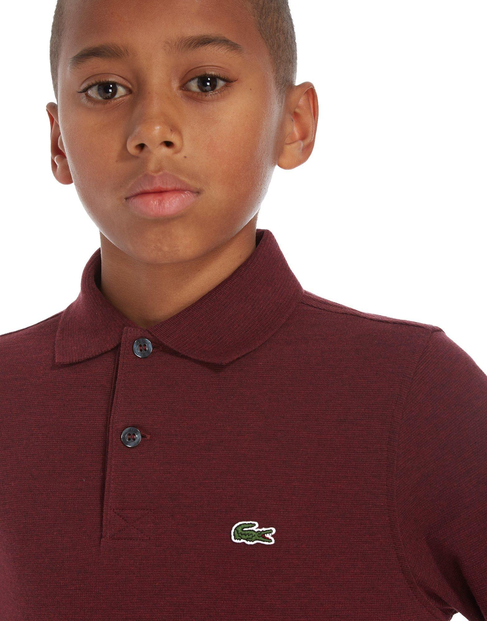 671a8c407 Lyst - Lacoste Long Sleeve Sport Polo T-shirt Children in Red for Men