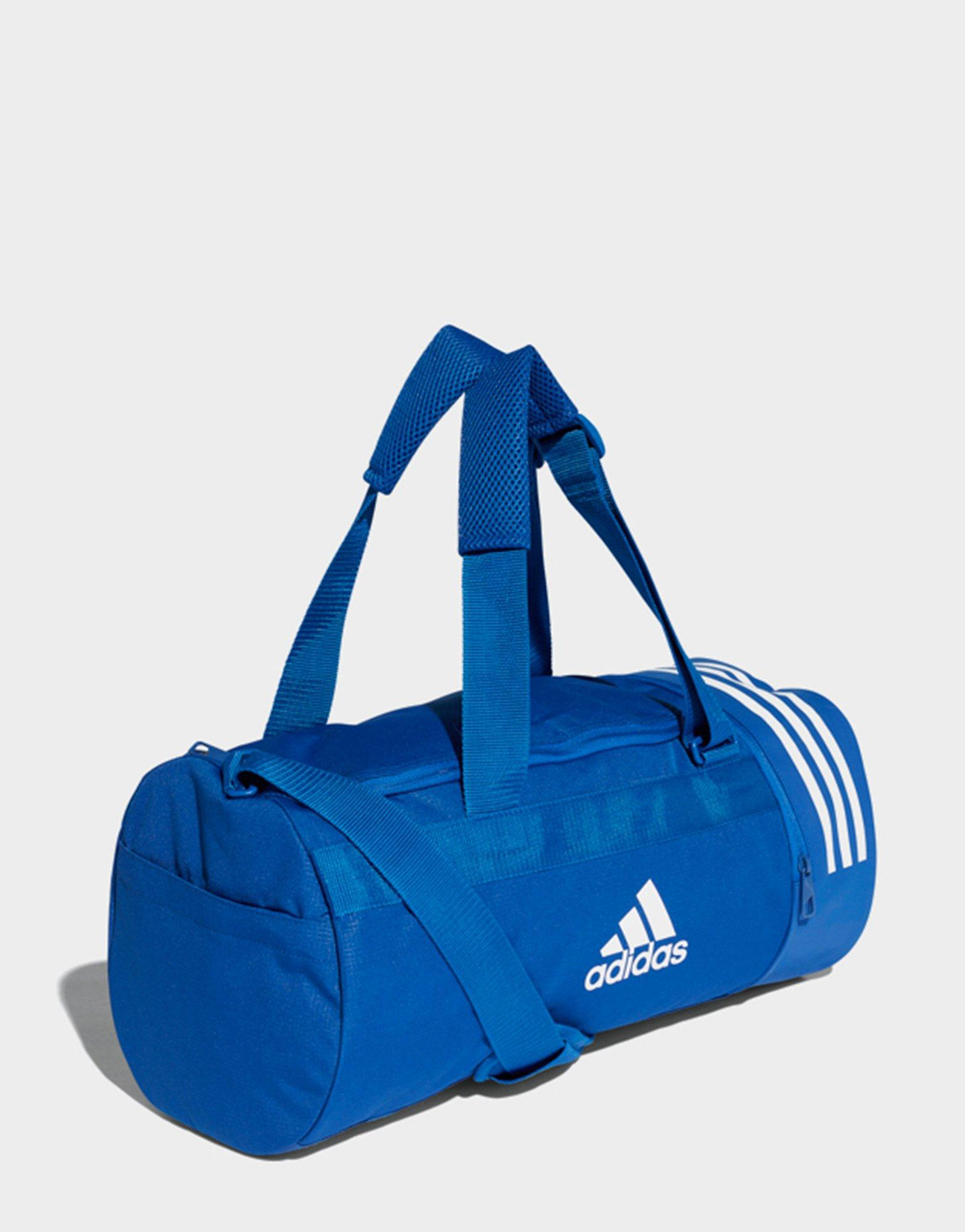 98d5314ea7aa adidas Convertible 3-stripes Duffel Bag Small in Blue for Men - Lyst