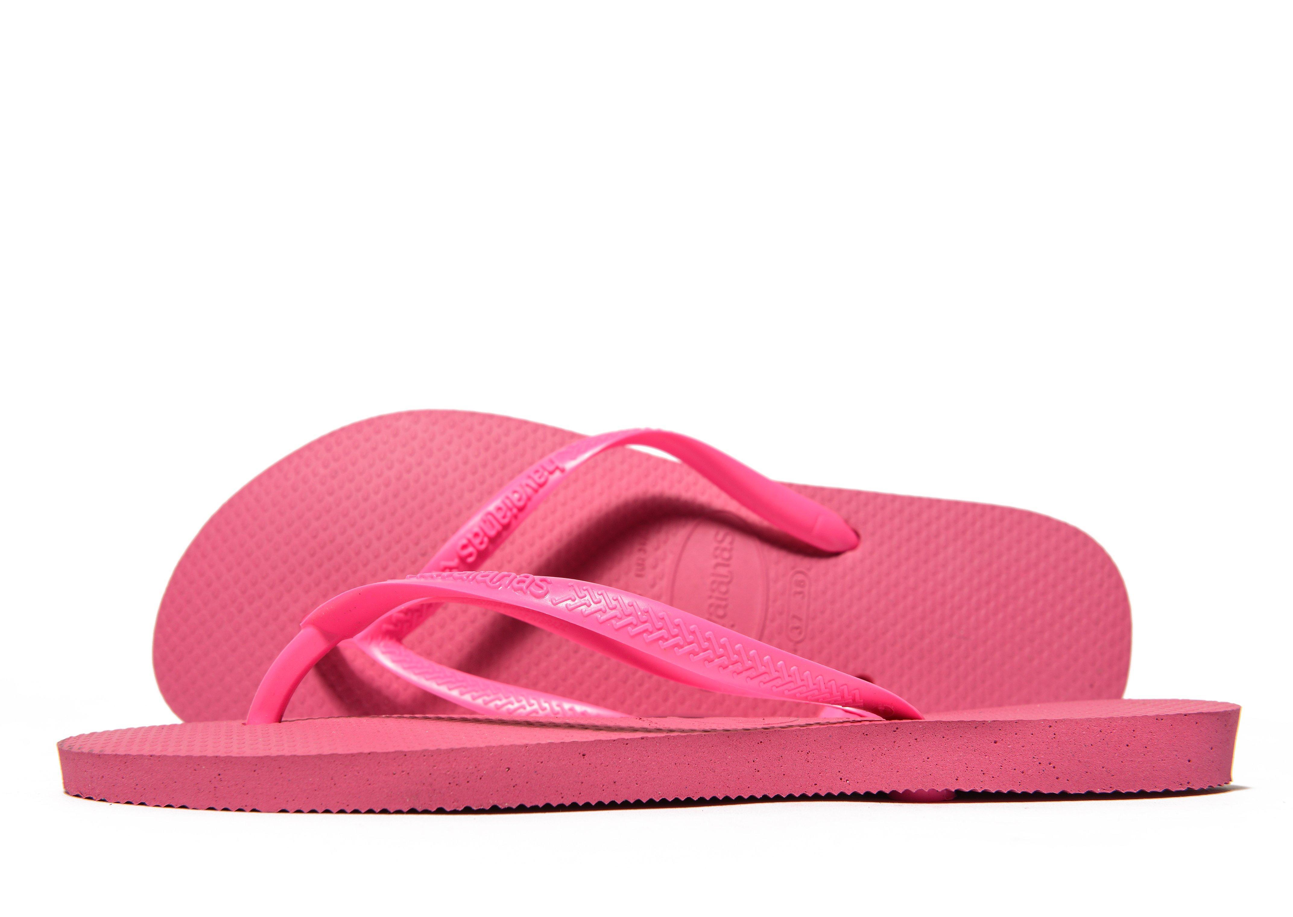 77271b25157f0e Lyst - Havaianas Slim Flip Flops in Pink