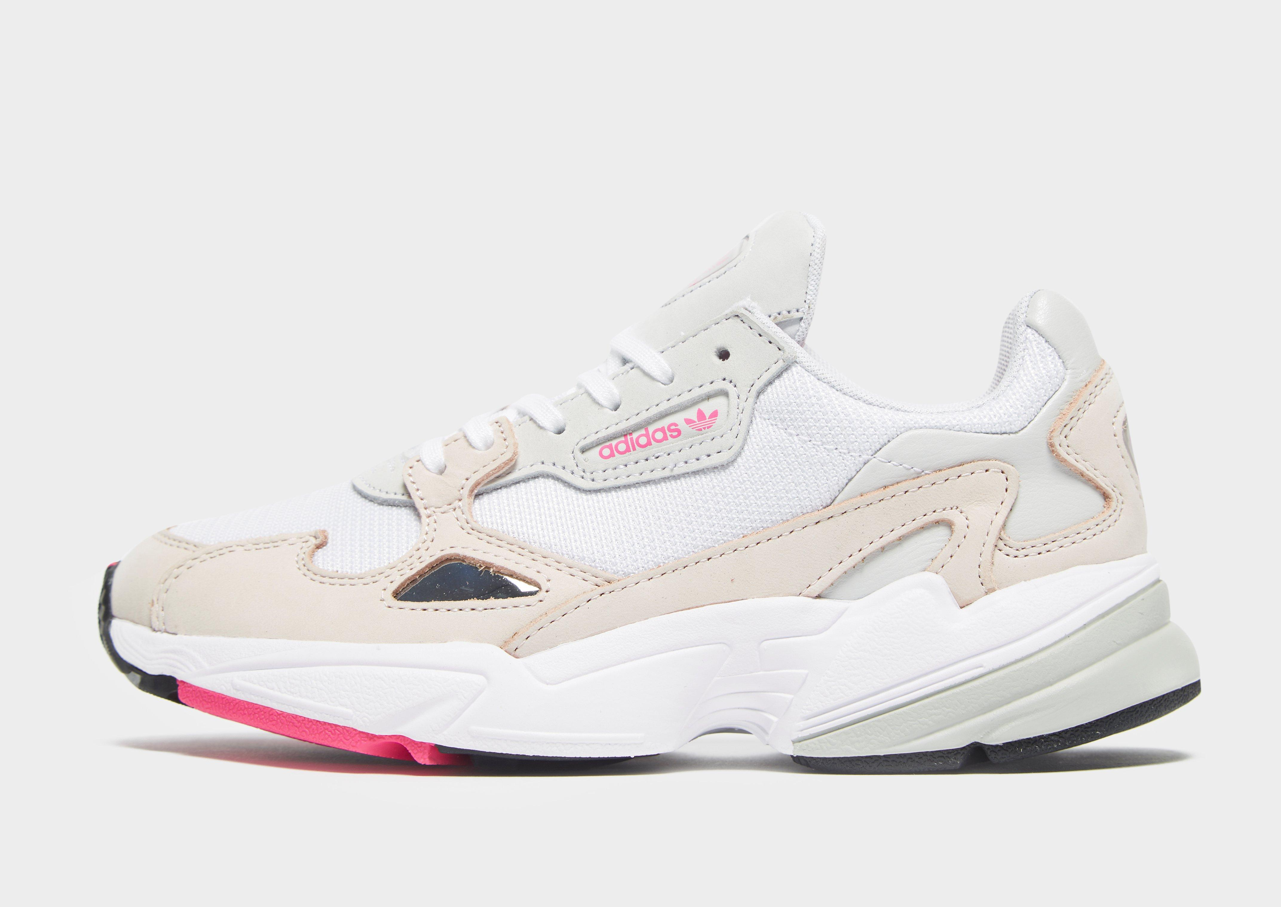 Adidas Originals Falcon In White Lyst