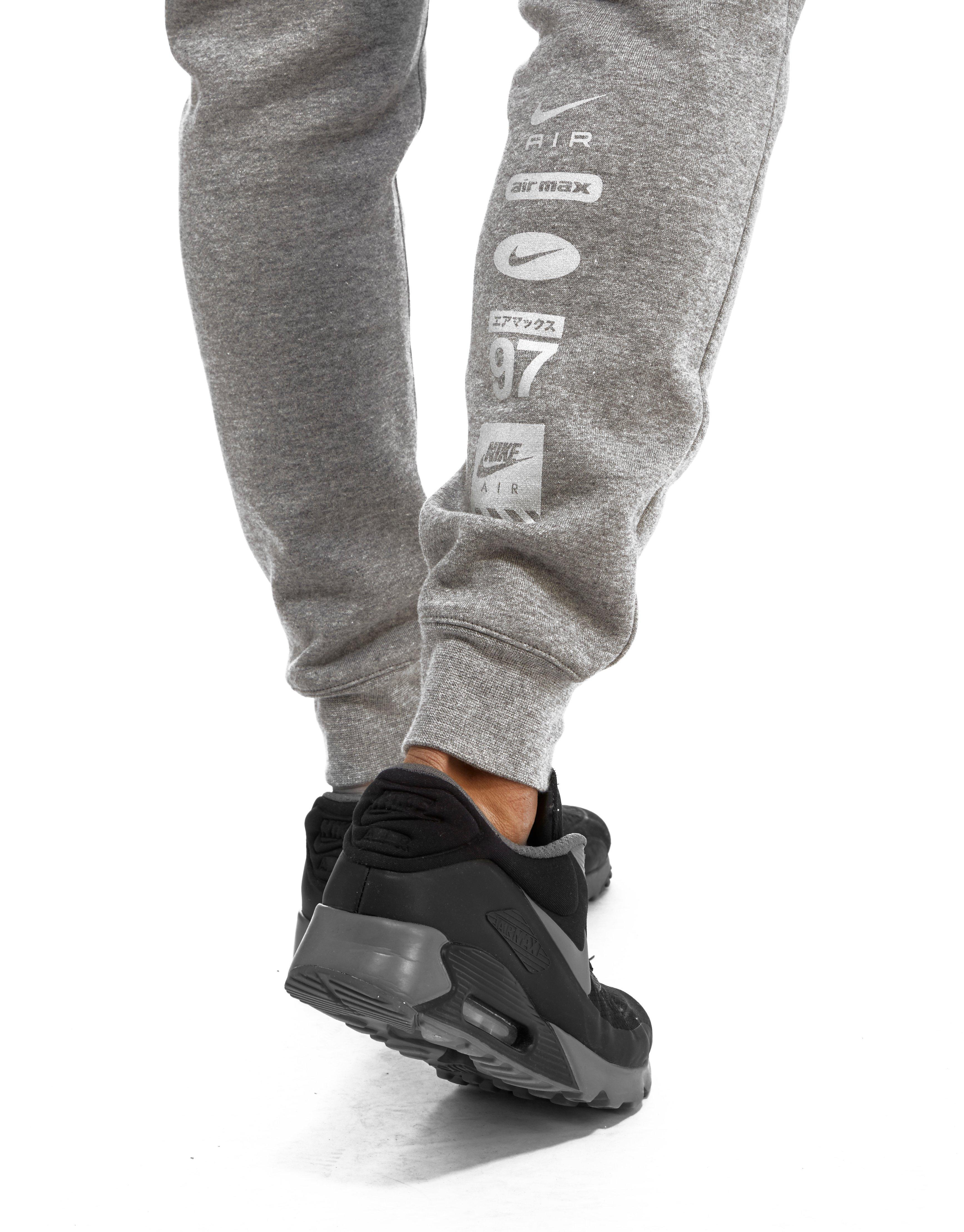 ab9d82a96828e Nike Air Hybrid Jogging Pants in Gray for Men - Lyst