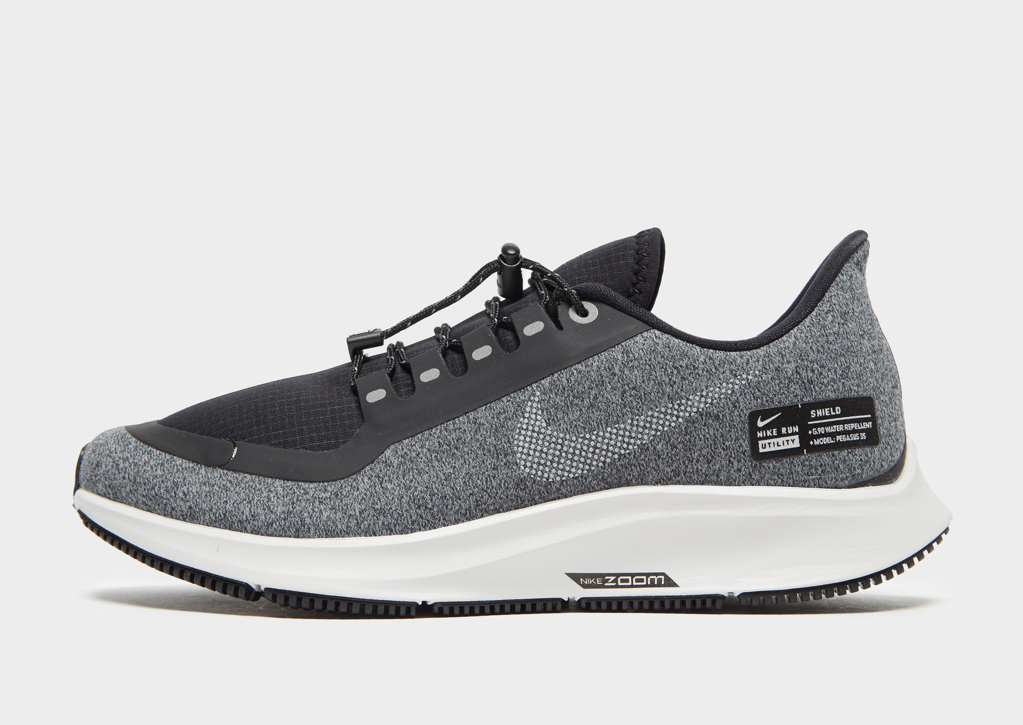 Lyst - Nike Air Zoom Pegasus 35 Shield in Black 898dba1c4