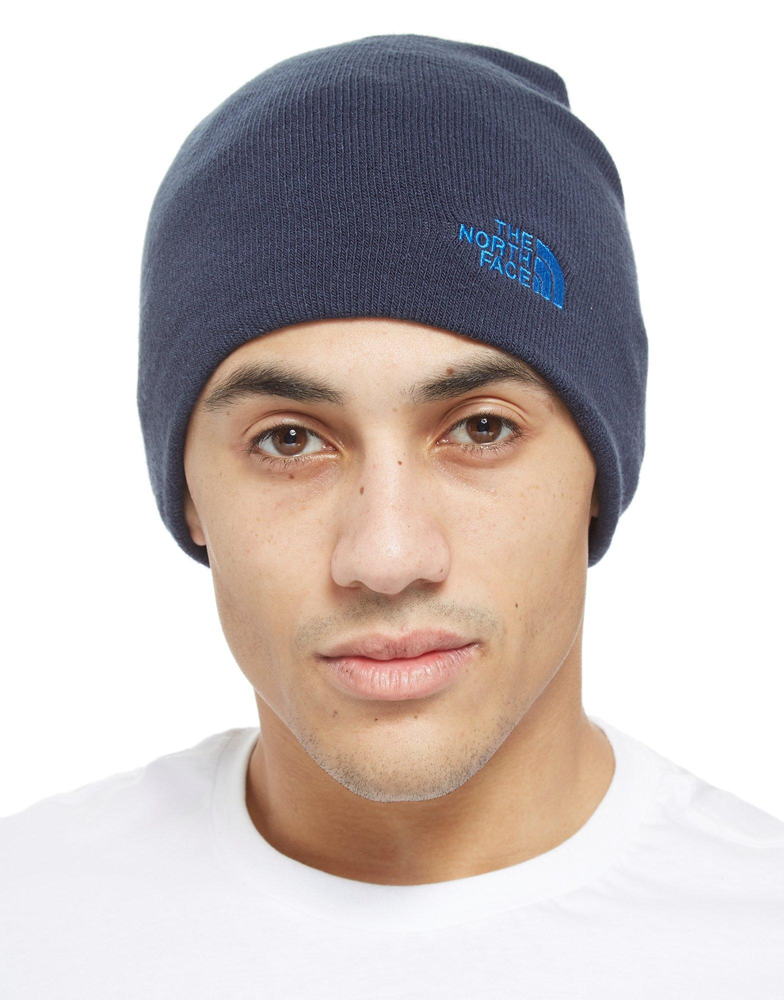0e0540f9a0e Lyst - The North Face Gateway Beanie in Blue for Men