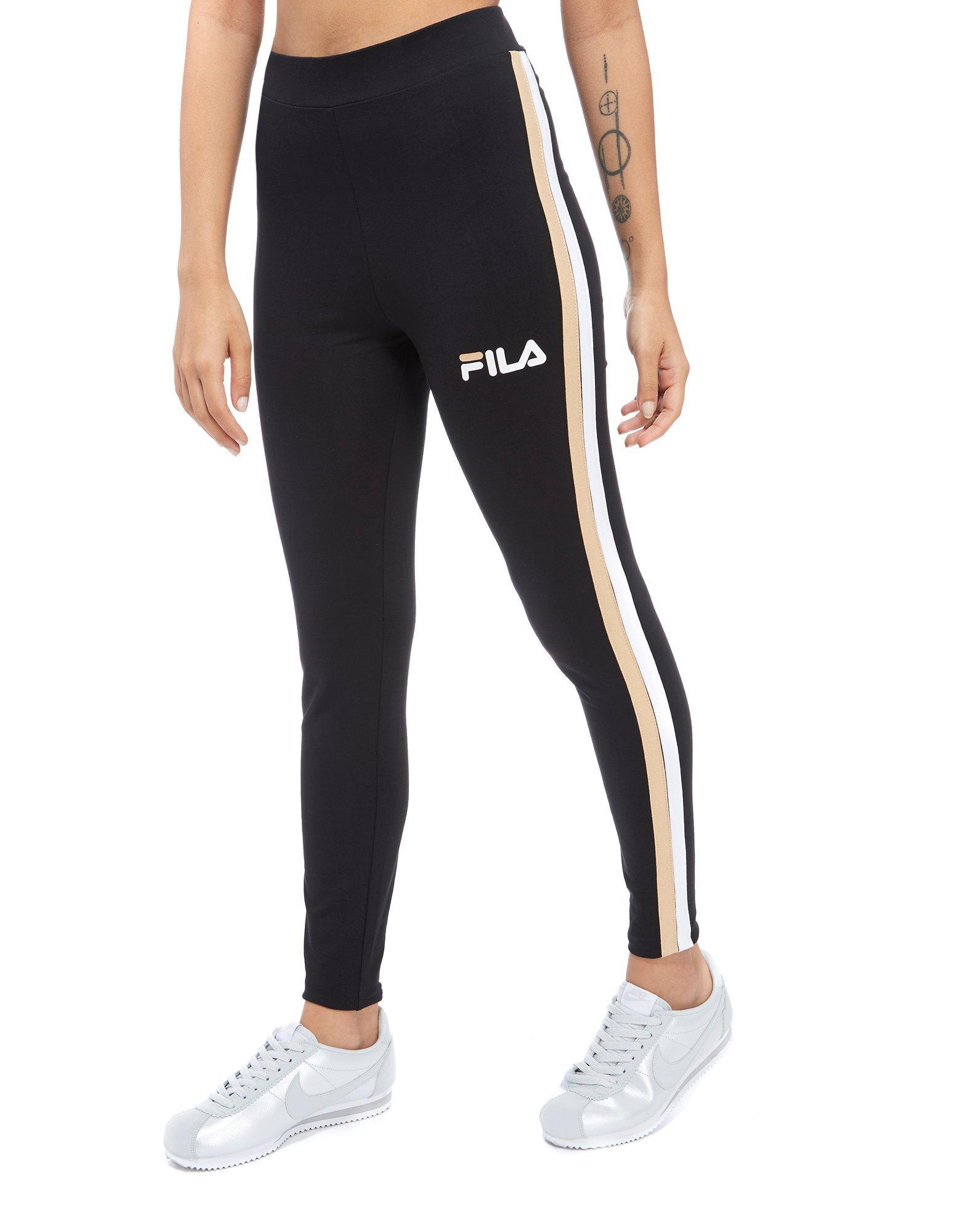 Fila Stripe Leggings - / - Womens Sale Browse p01aFohDVd