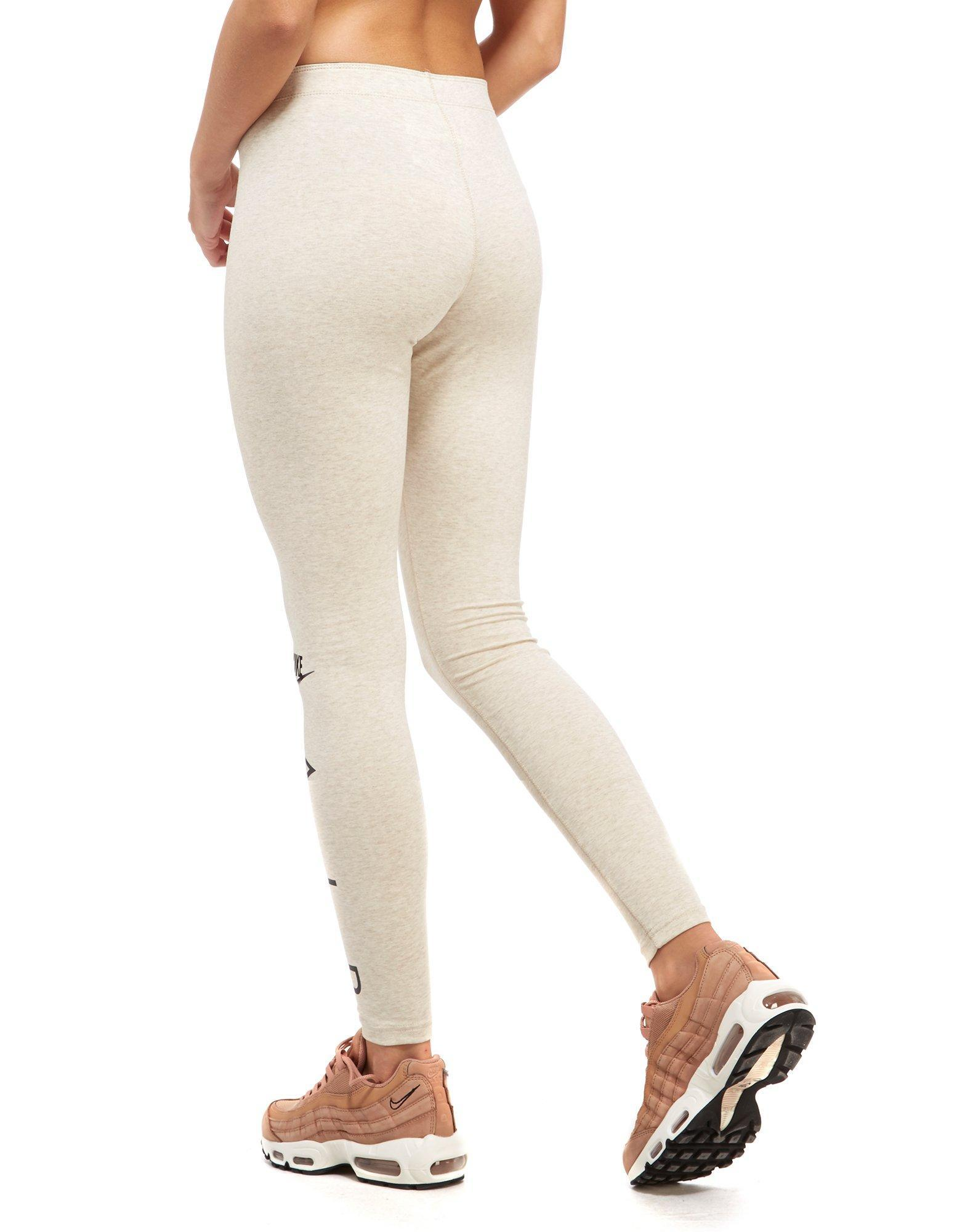 Lyst - Nike Air Leggings in Natural 7af22232f9d