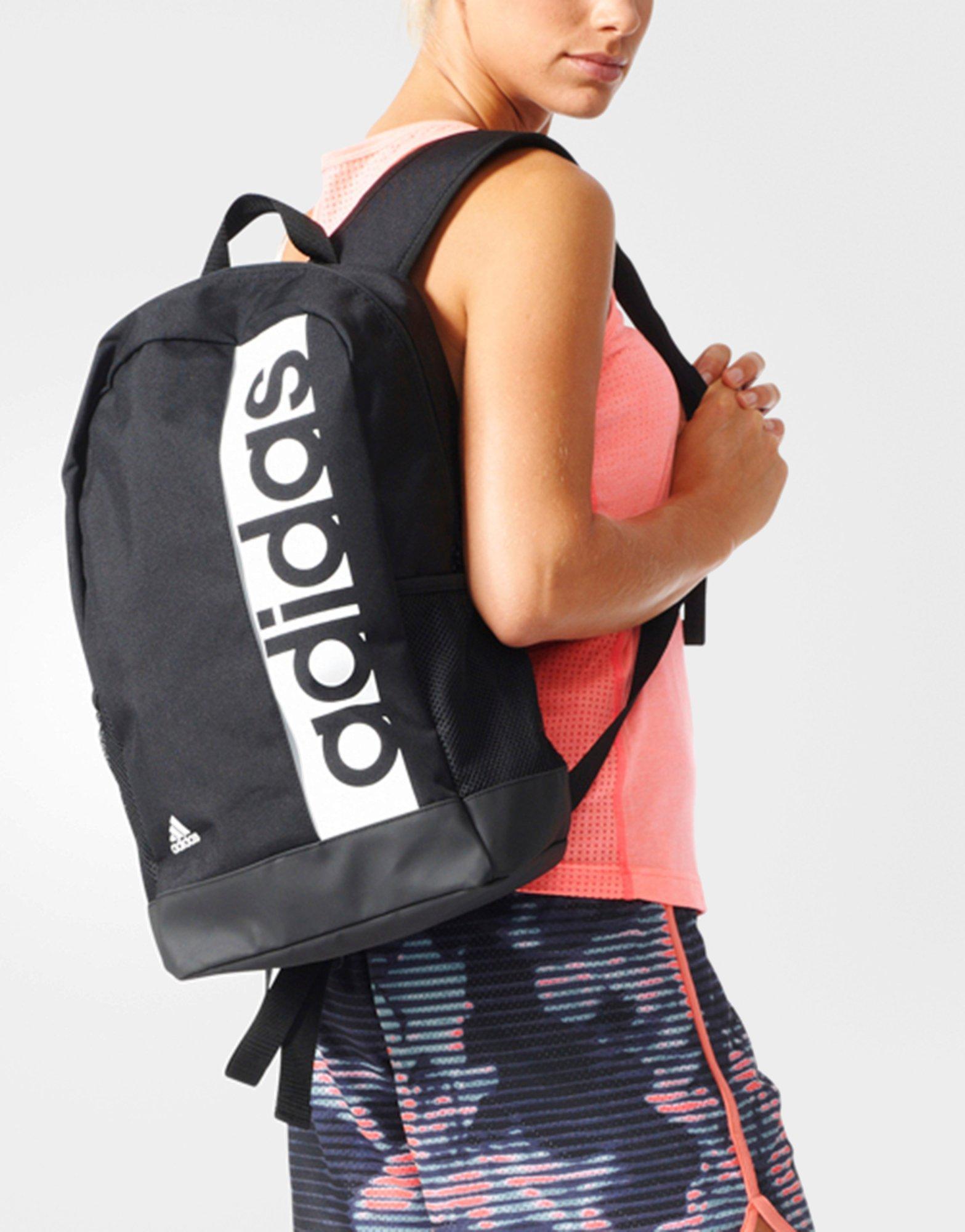 f1b30235a1 Adidas - Black Linear Performance Backpack - Lyst. View fullscreen