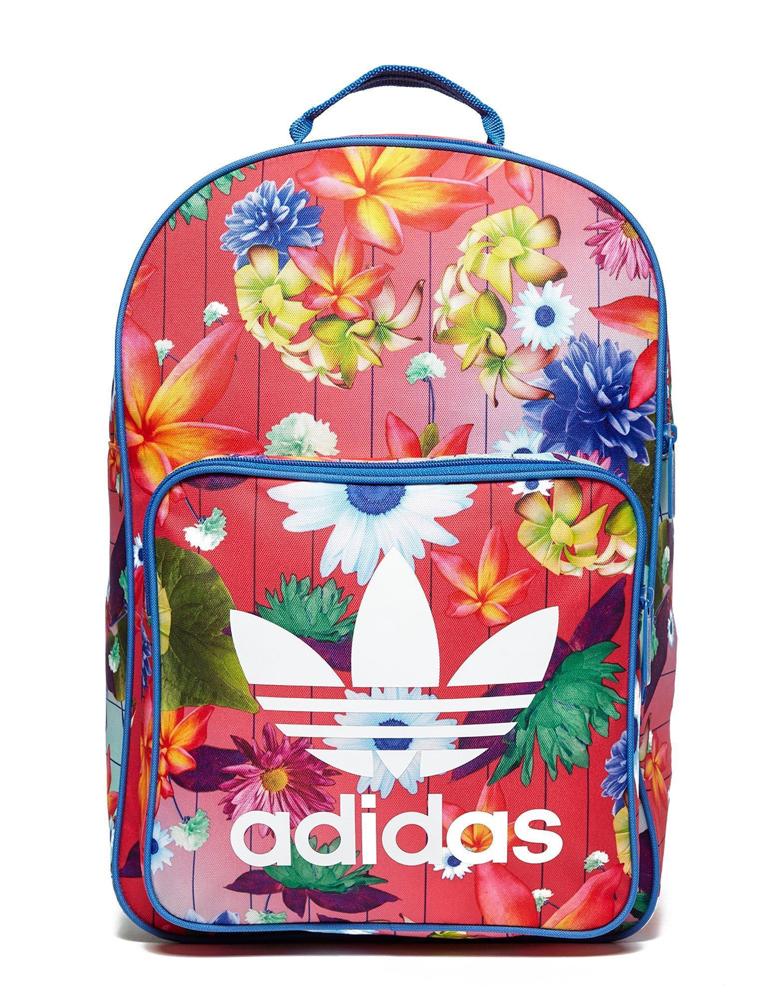 4ad738306d77 adidas Originals Classic Flower Backpack - Lyst