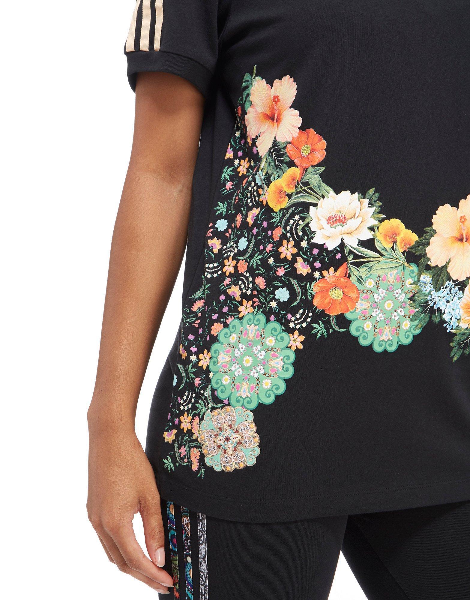f66307a7be86 Lyst - adidas Originals Farm Jardin Agharta T-shirt in Black
