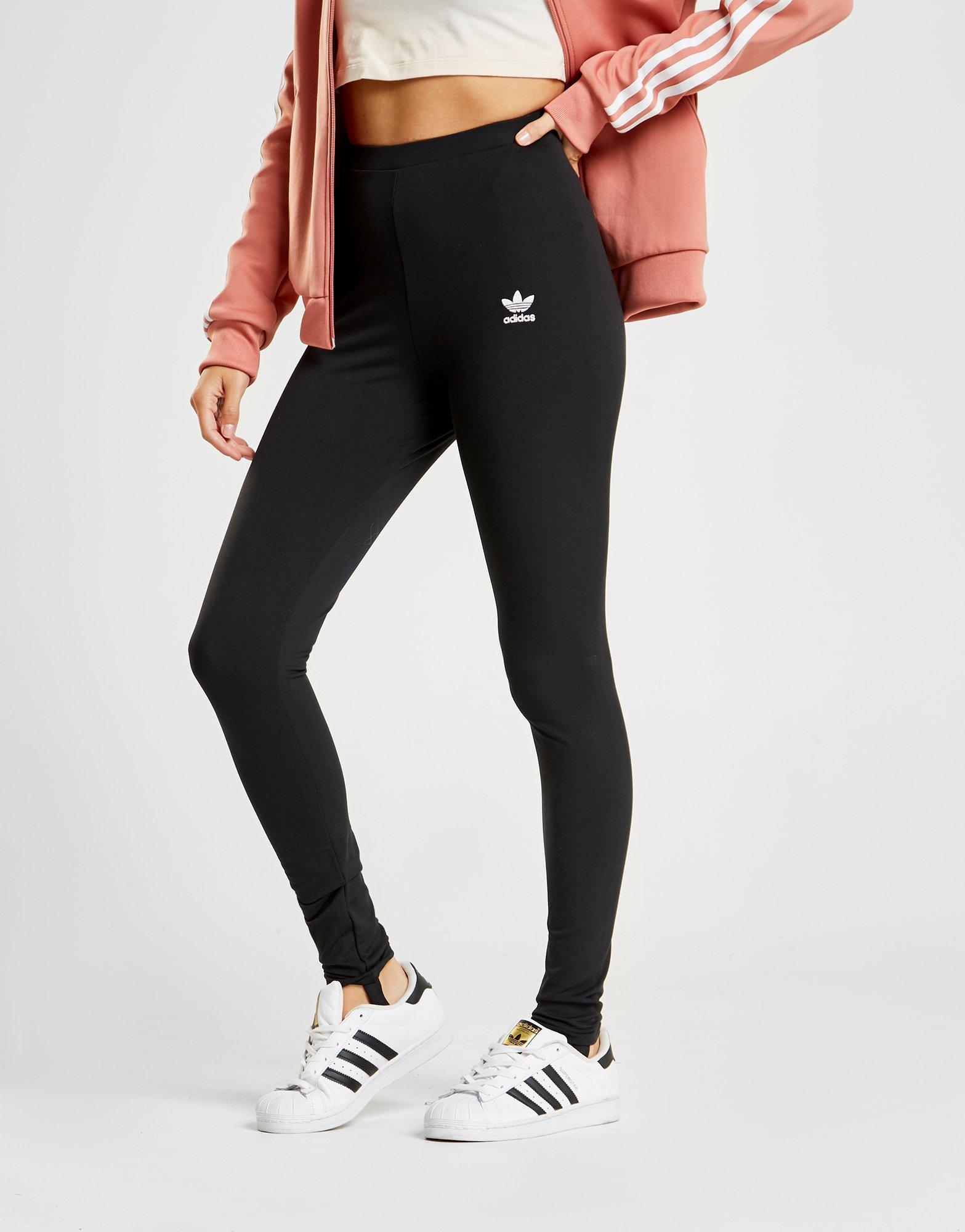 6abd6362cc5 adidas Styling Complements Stirrup Leggings in Black - Lyst