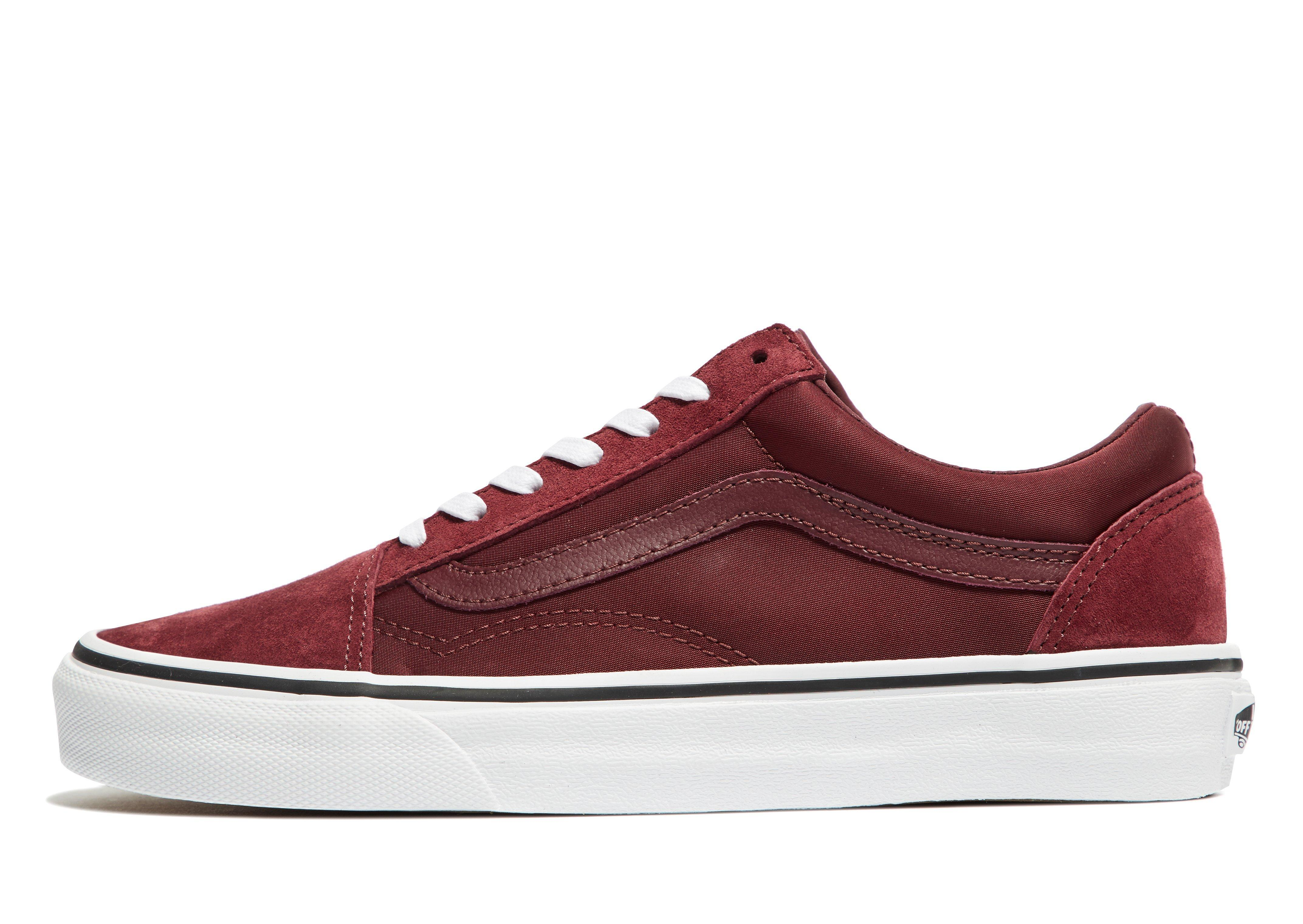 red vans old skool jd