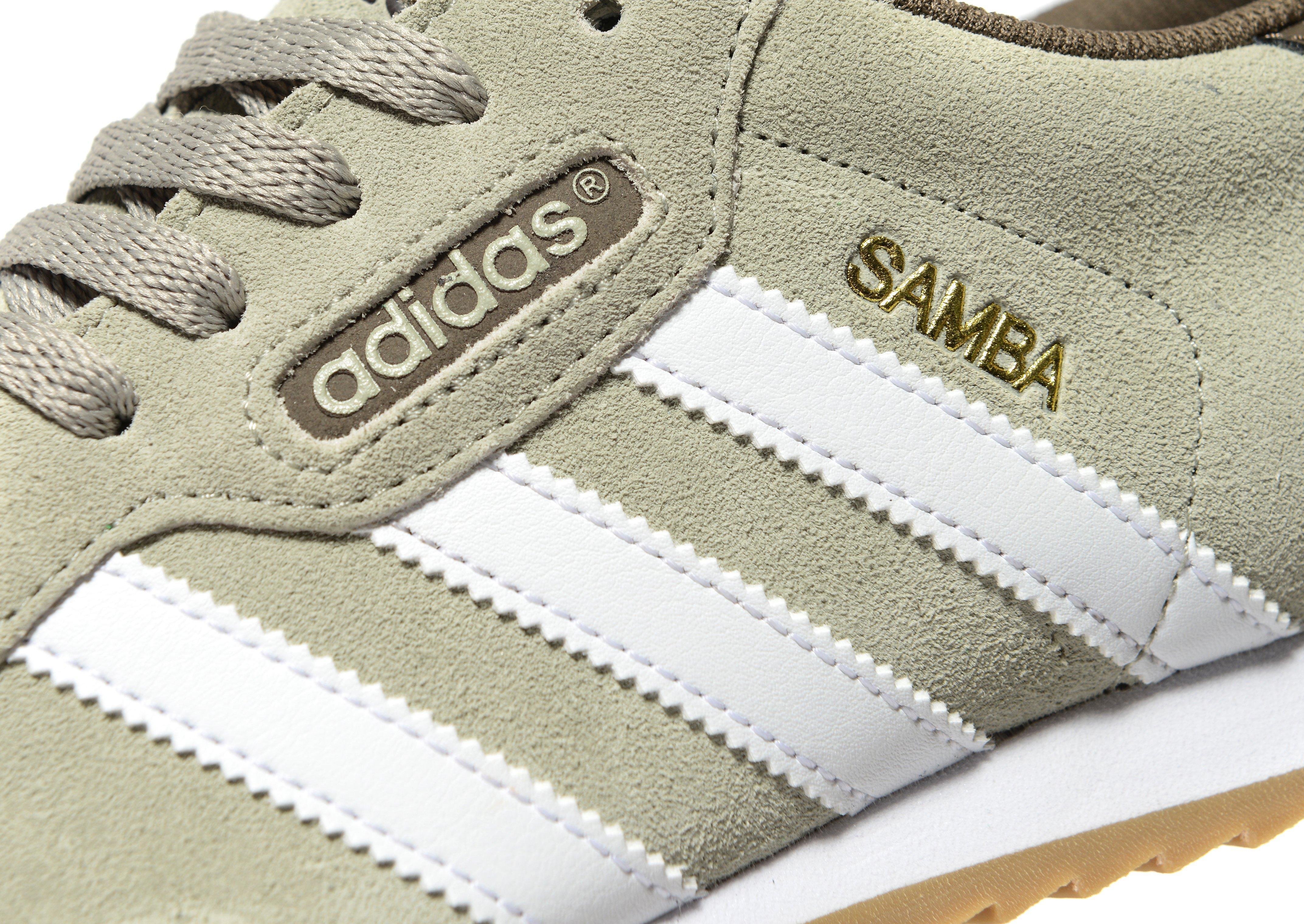 adidas Originals Samba in White for Men - Lyst 8951167f5508