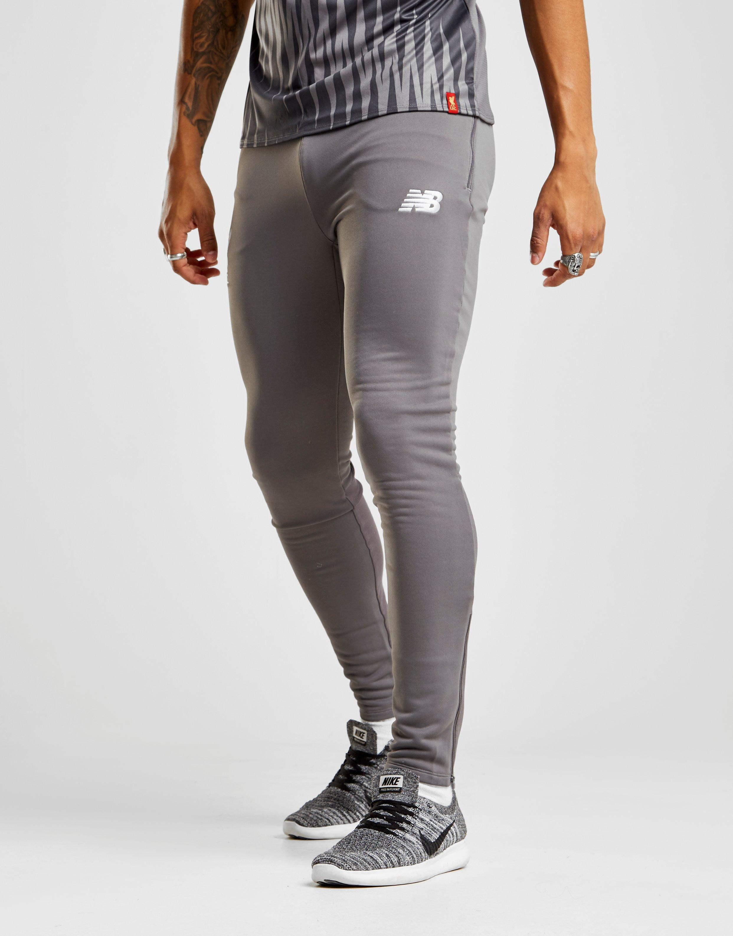 b7d646cad4a66 New Balance Liverpool Fc Tech Pants in Gray for Men - Lyst