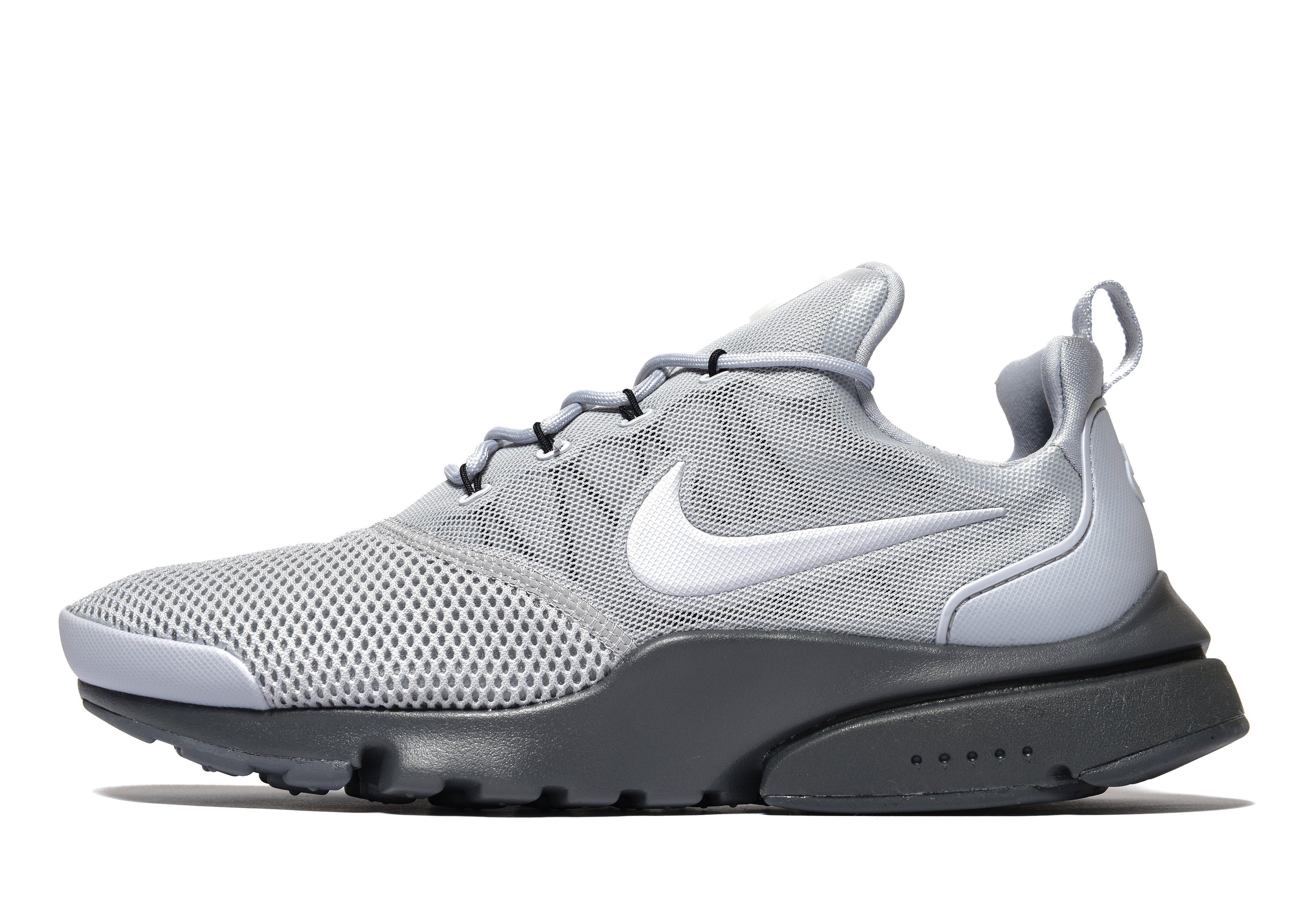 lyst nike air presto fly in gray for men. Black Bedroom Furniture Sets. Home Design Ideas