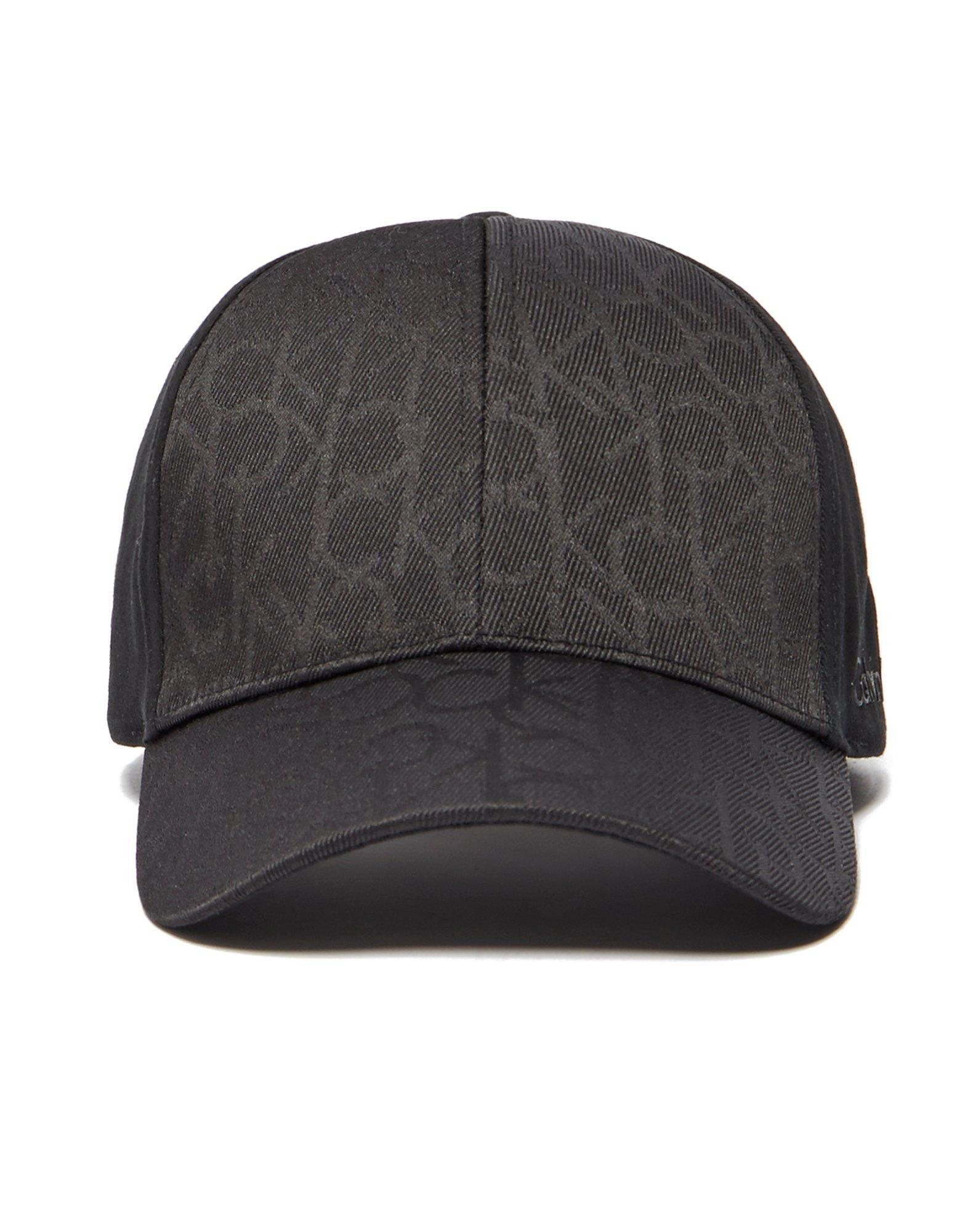 calvin klein power cap in black for men lyst. Black Bedroom Furniture Sets. Home Design Ideas