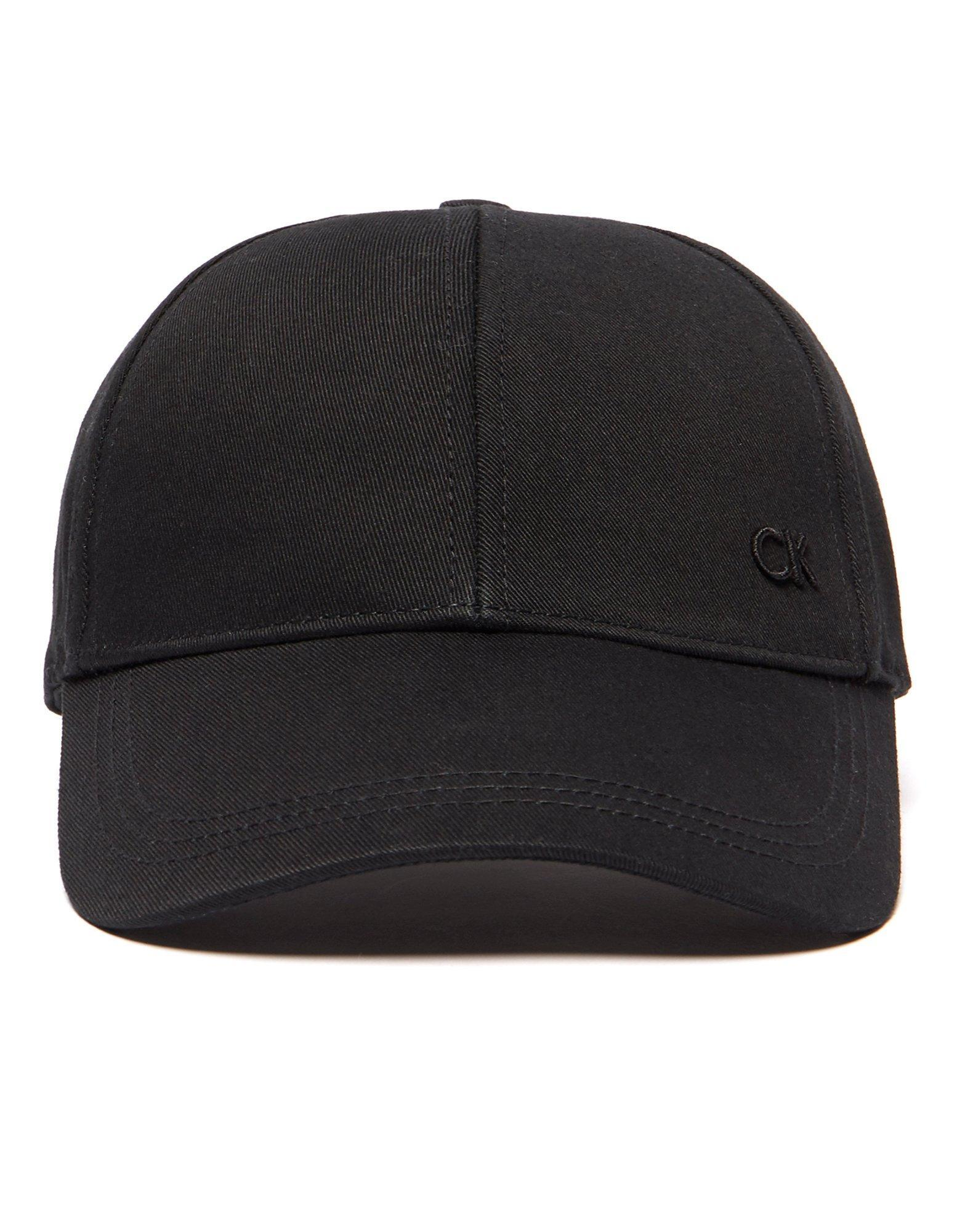 calvin klein baseball cap in black for men lyst. Black Bedroom Furniture Sets. Home Design Ideas
