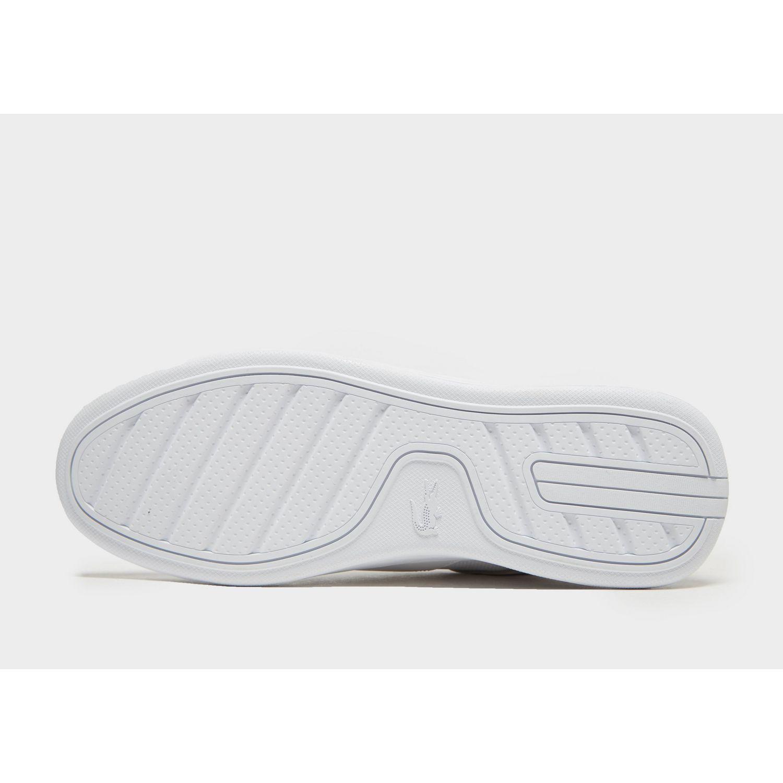 ec051265baa87 Lacoste - White Novas for Men - Lyst. View fullscreen