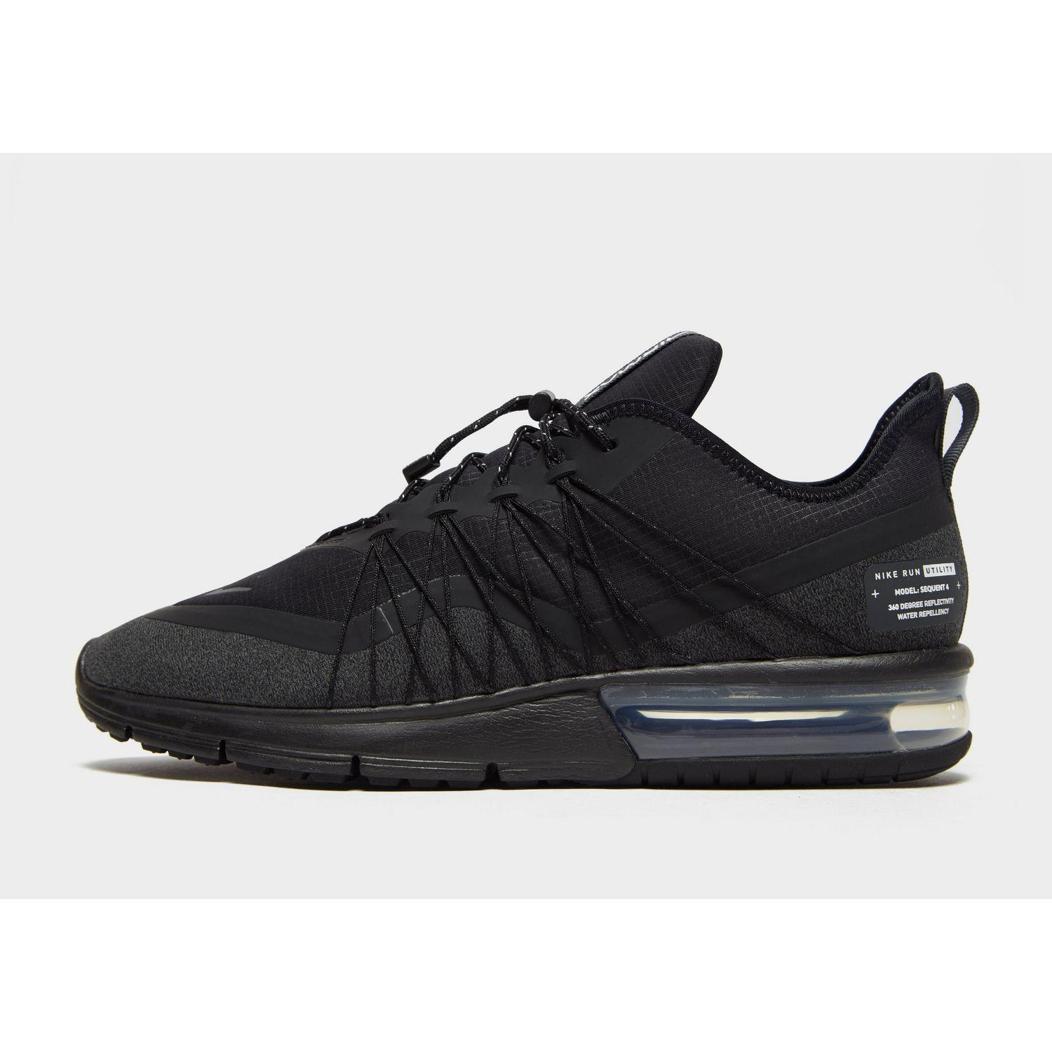 b62f3aa7ead Lyst - Nike Air Max Sequent 4 Shield Men s Shoe in Black for Men