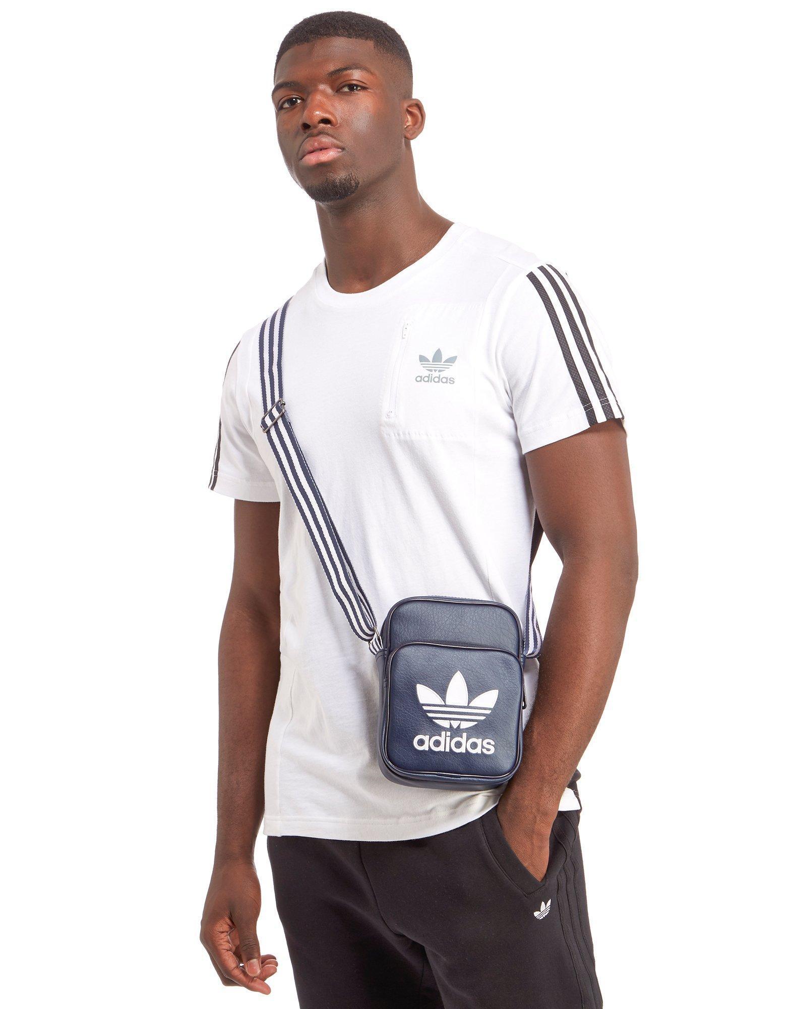Lyst - adidas Originals Small Items Bag in Blue for Men d238b2b1b8ede