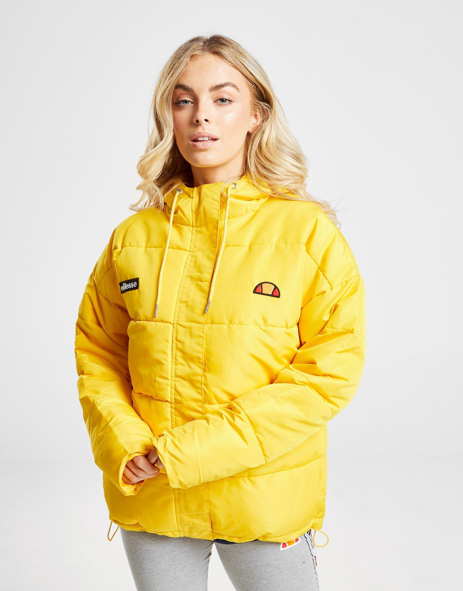 31fd5acc1 Ellesse Pejo Padded Jacket in Yellow - Lyst