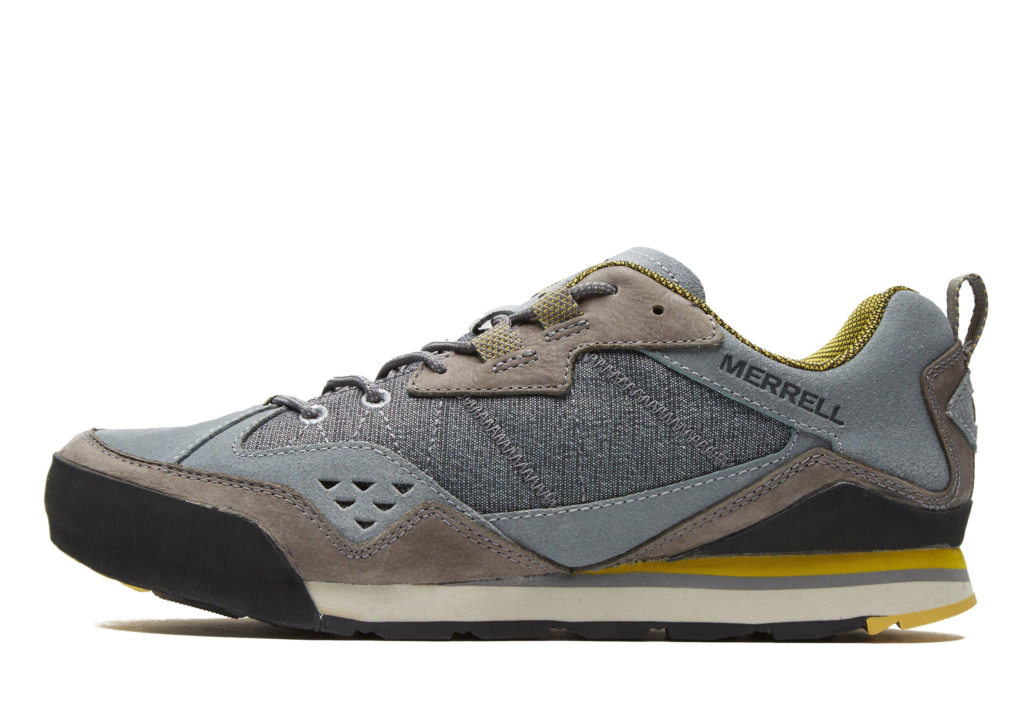 2c4c85835a48 Merrell Burnt Rock Walking Shoes in Gray for Men - Lyst