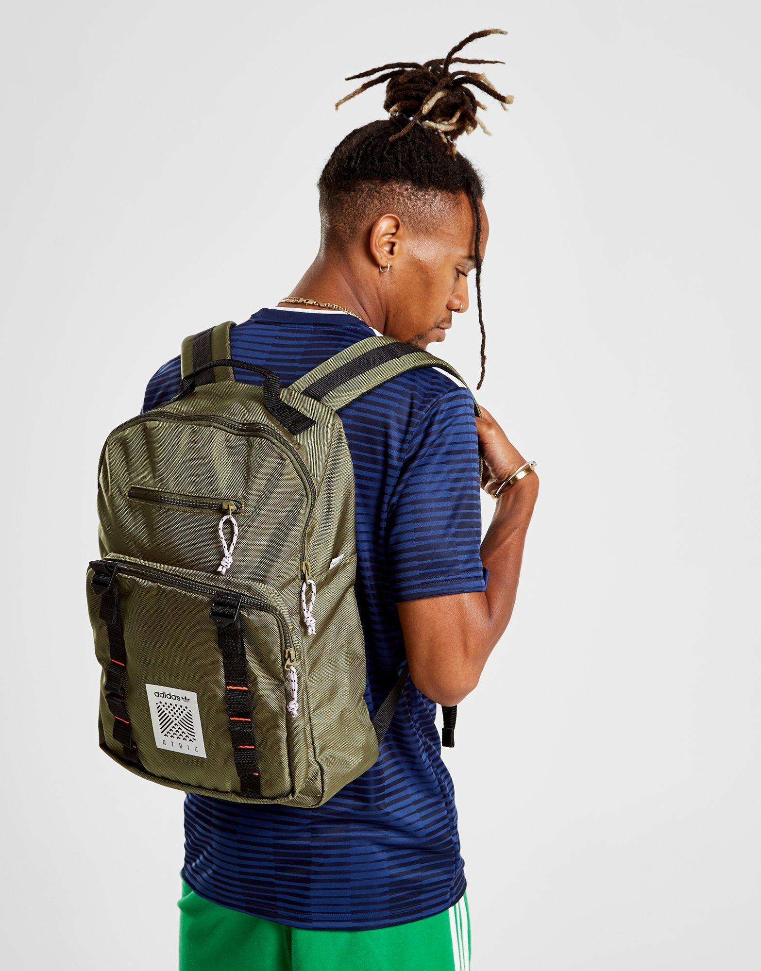 c70c1bf730 Lyst - adidas Originals Classic Atric Backpack in Green for Men