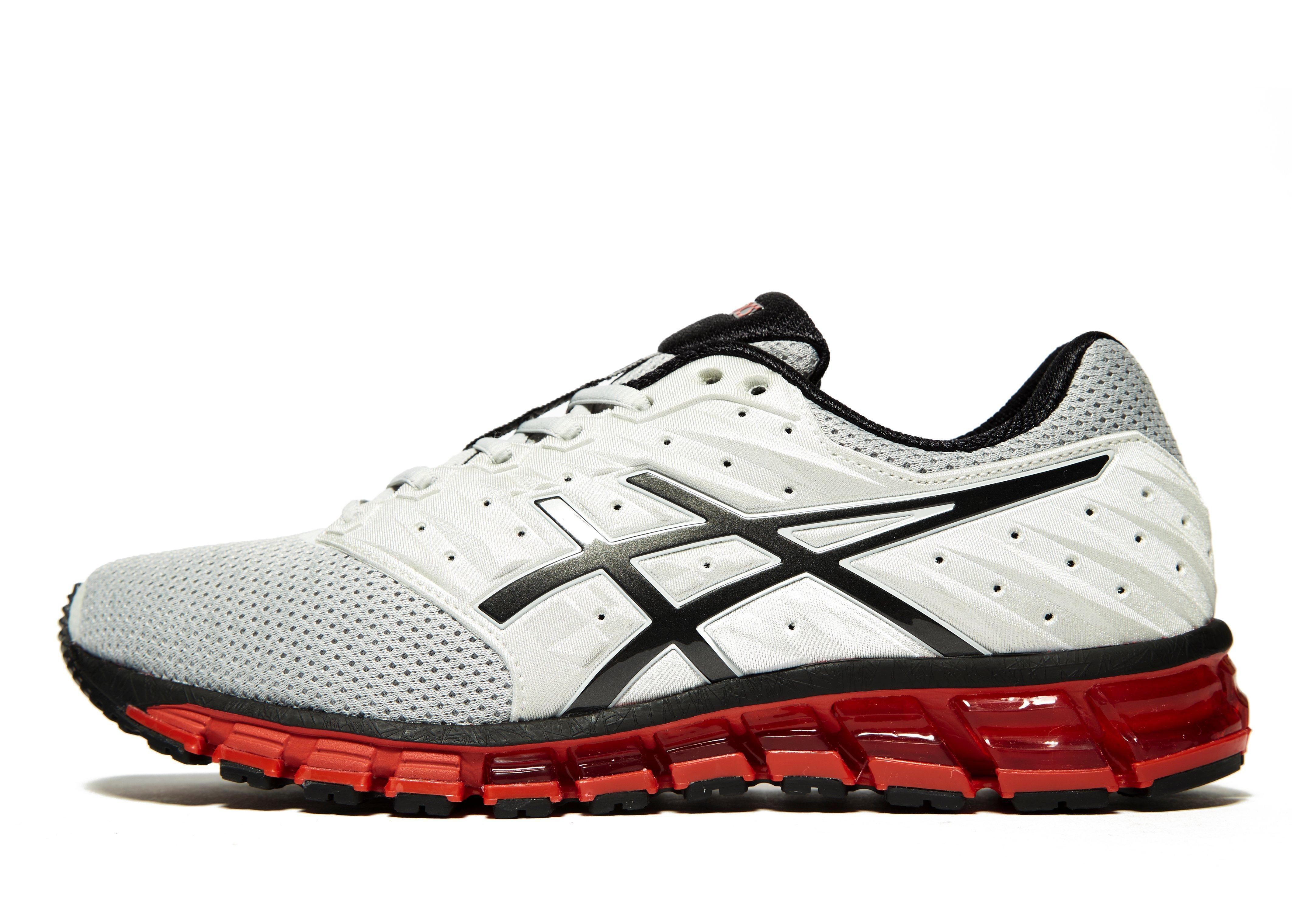 lyst asics gel quantum 180 2 in grey for men. Black Bedroom Furniture Sets. Home Design Ideas