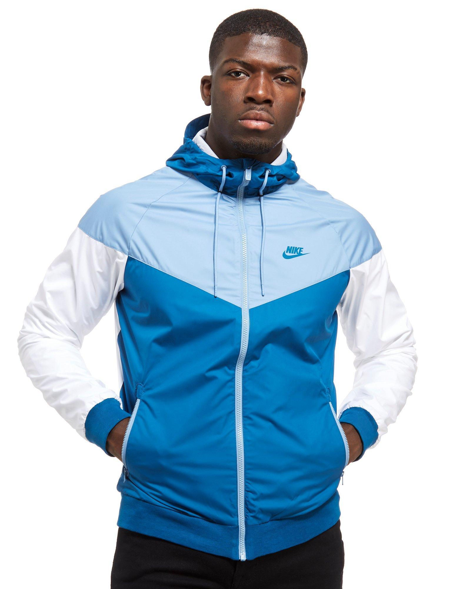 abc6127b6 Nike Windrunner Jacket in Blue for Men - Lyst