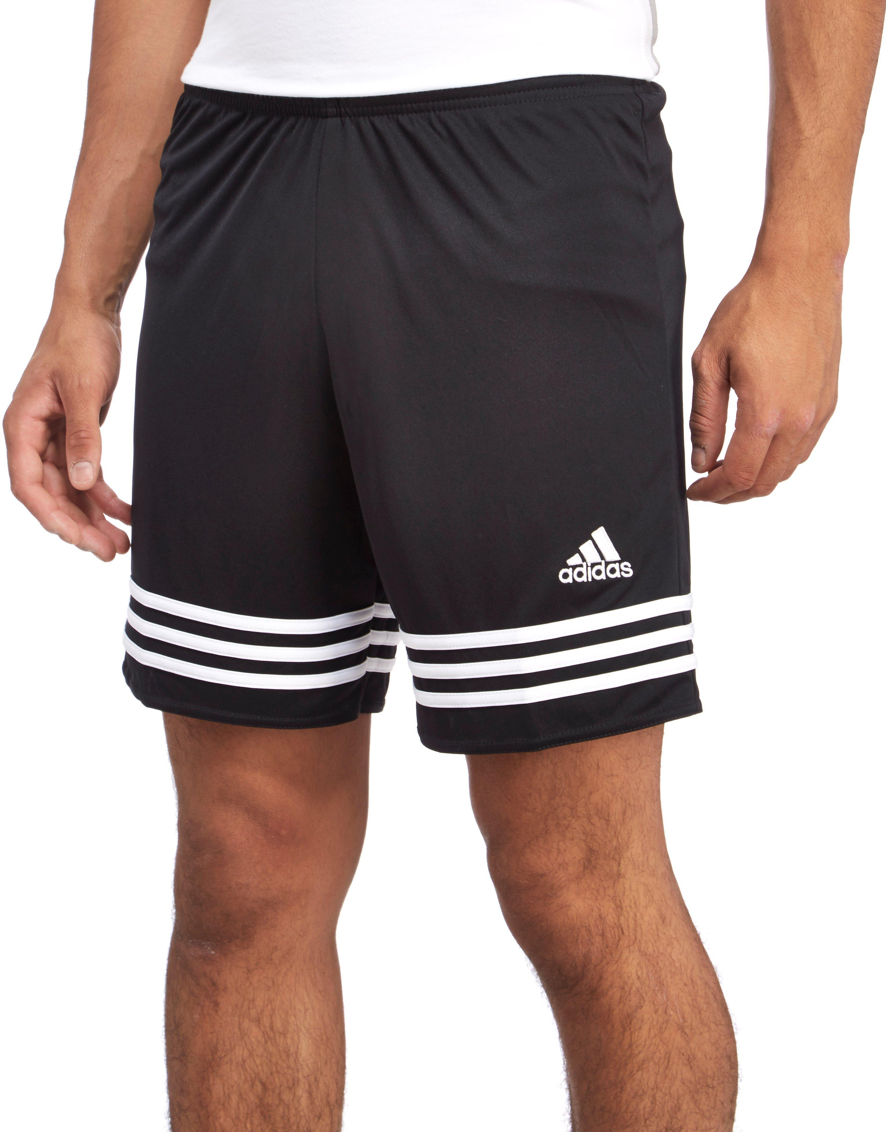Lyst - Adidas Entrada Poly Shorts in Black for Men